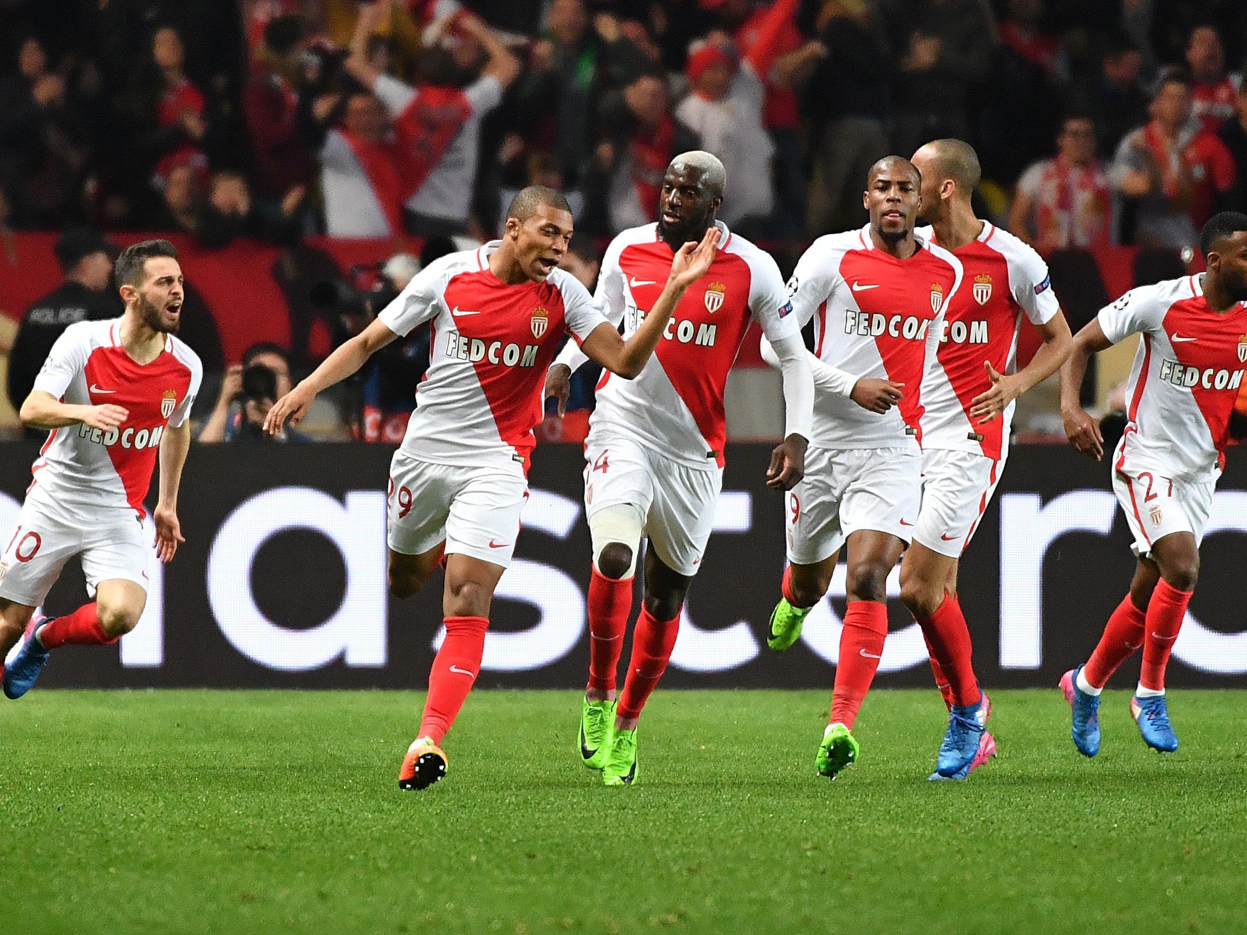 Monaco jubelt über den verdienten Einzug in das CL-Viertelfinale.