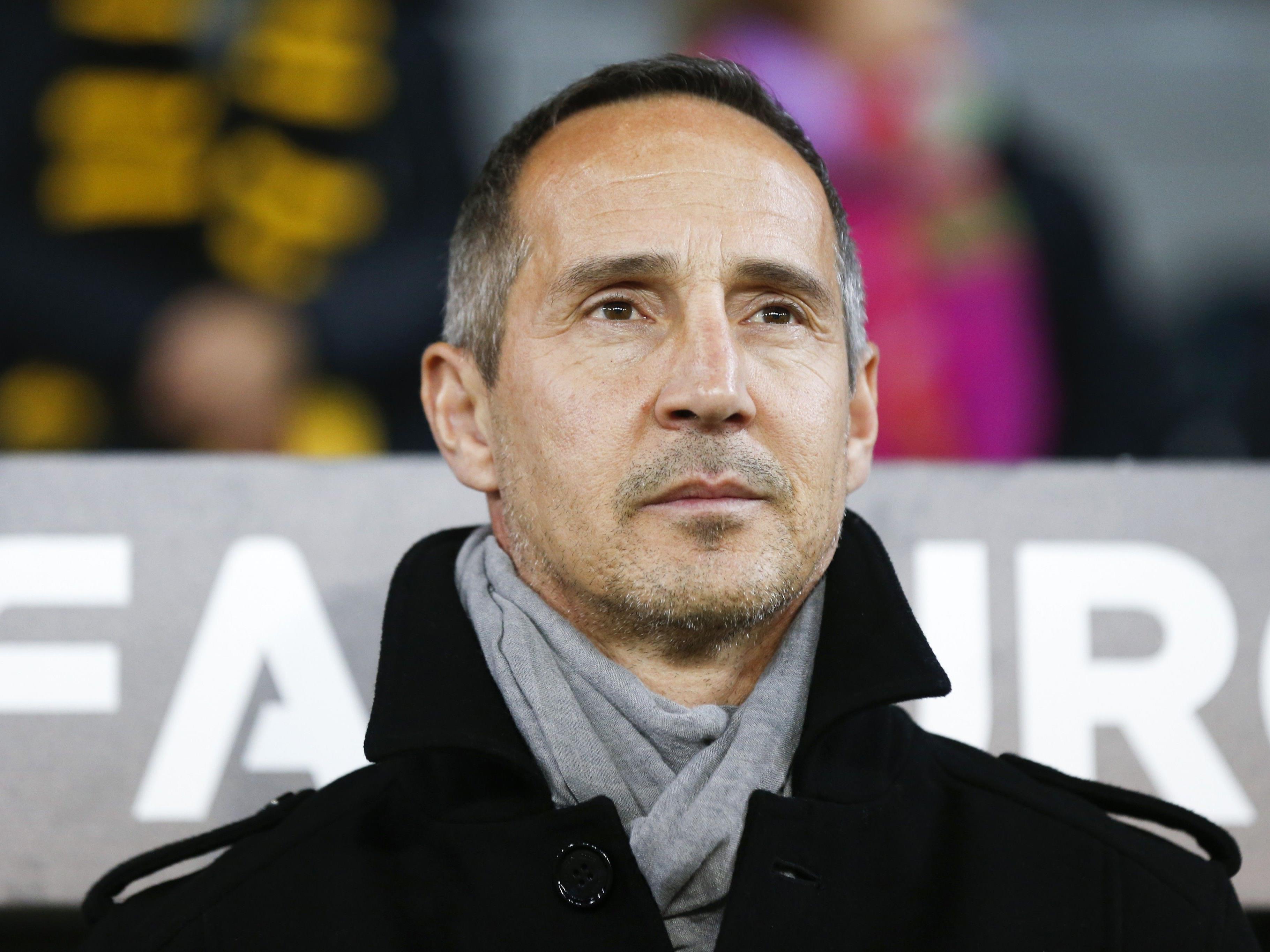 Adi Hütter schied mit den Young Boys Bern im Schweizer Cup sensationell gegen Winterthur aus.