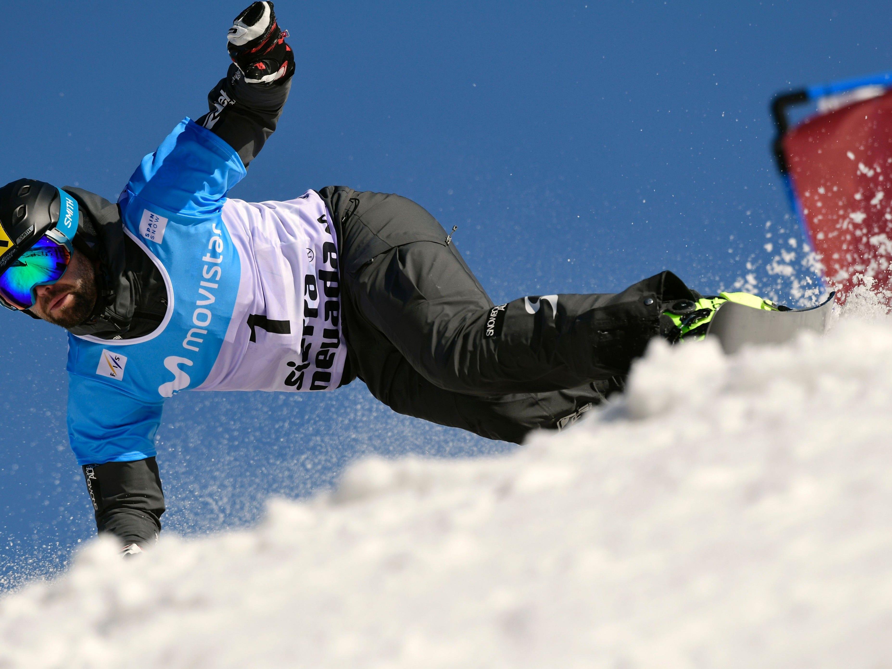 Andreas Pommeger gewann Gold im Parallel-Slalom bei der WM in der Sierra Nevada.