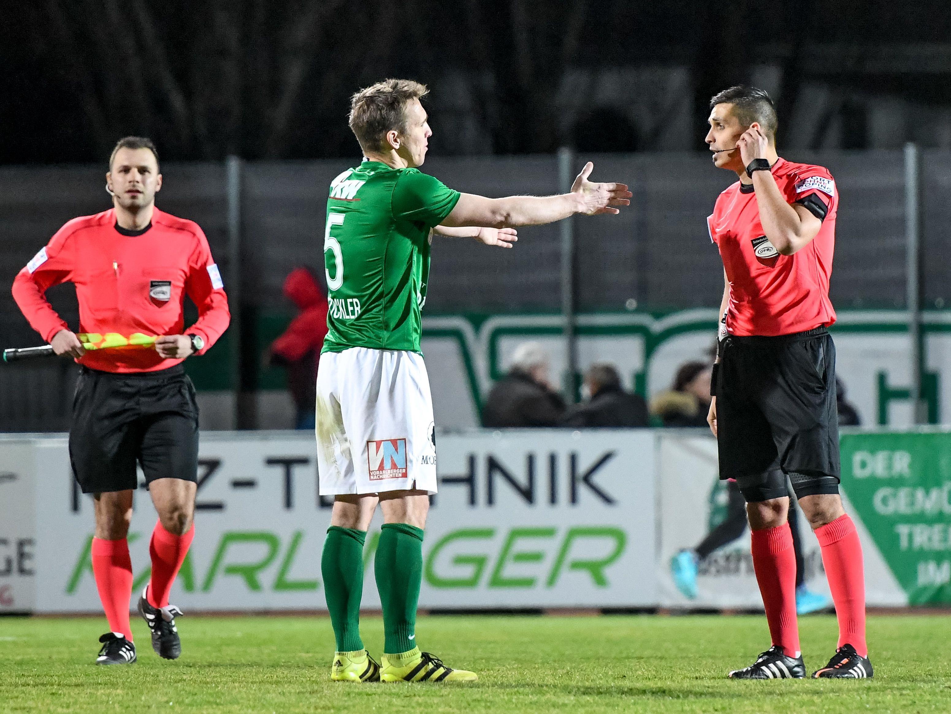 Die Lustenauer erwartet in Linz mit Sicherheit ein schweres Spiel.