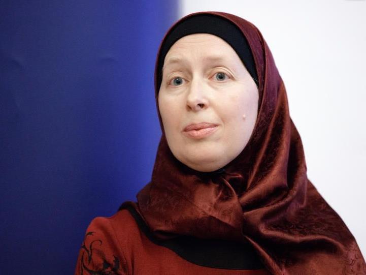 Die Frauenbeauftragte der Islamischen Glaubensgemeinschaft, Carla Amina Baghajati.