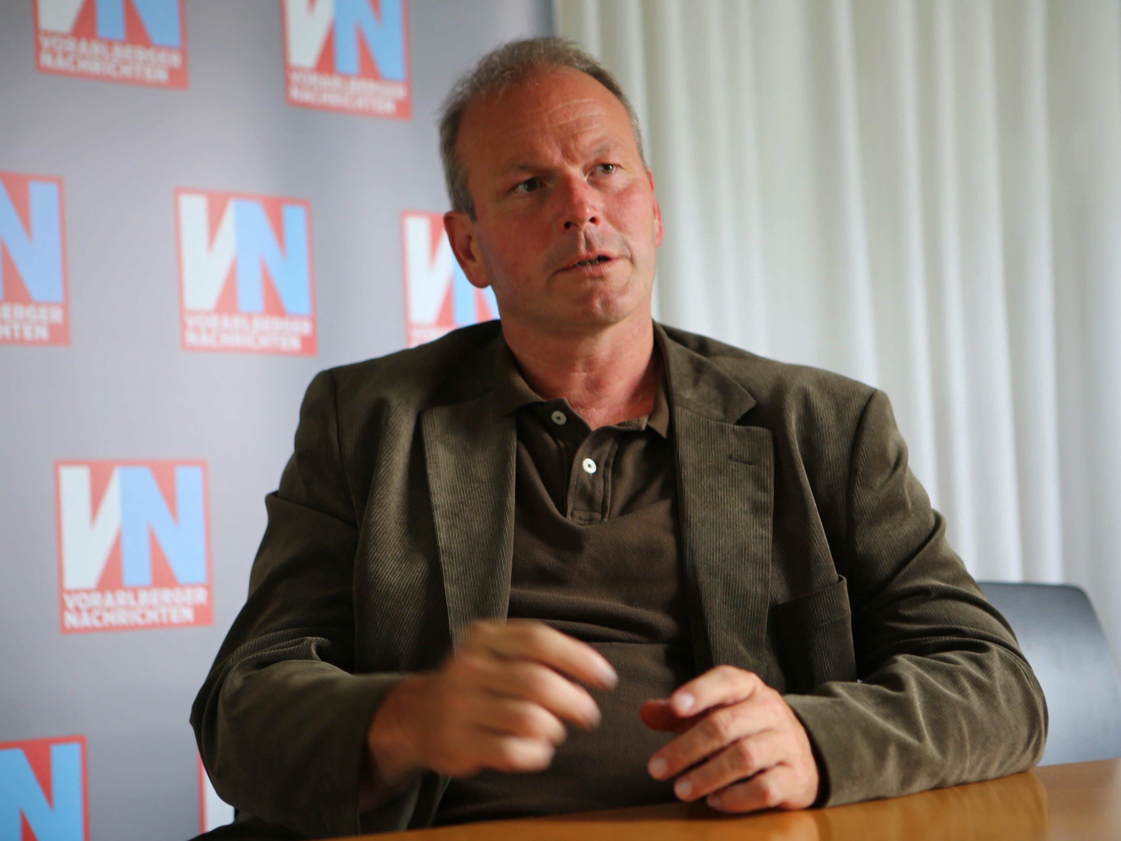 Bürgermeister Christian Loacker nimmt die Vorwürfe gelassen zur Kenntnis.