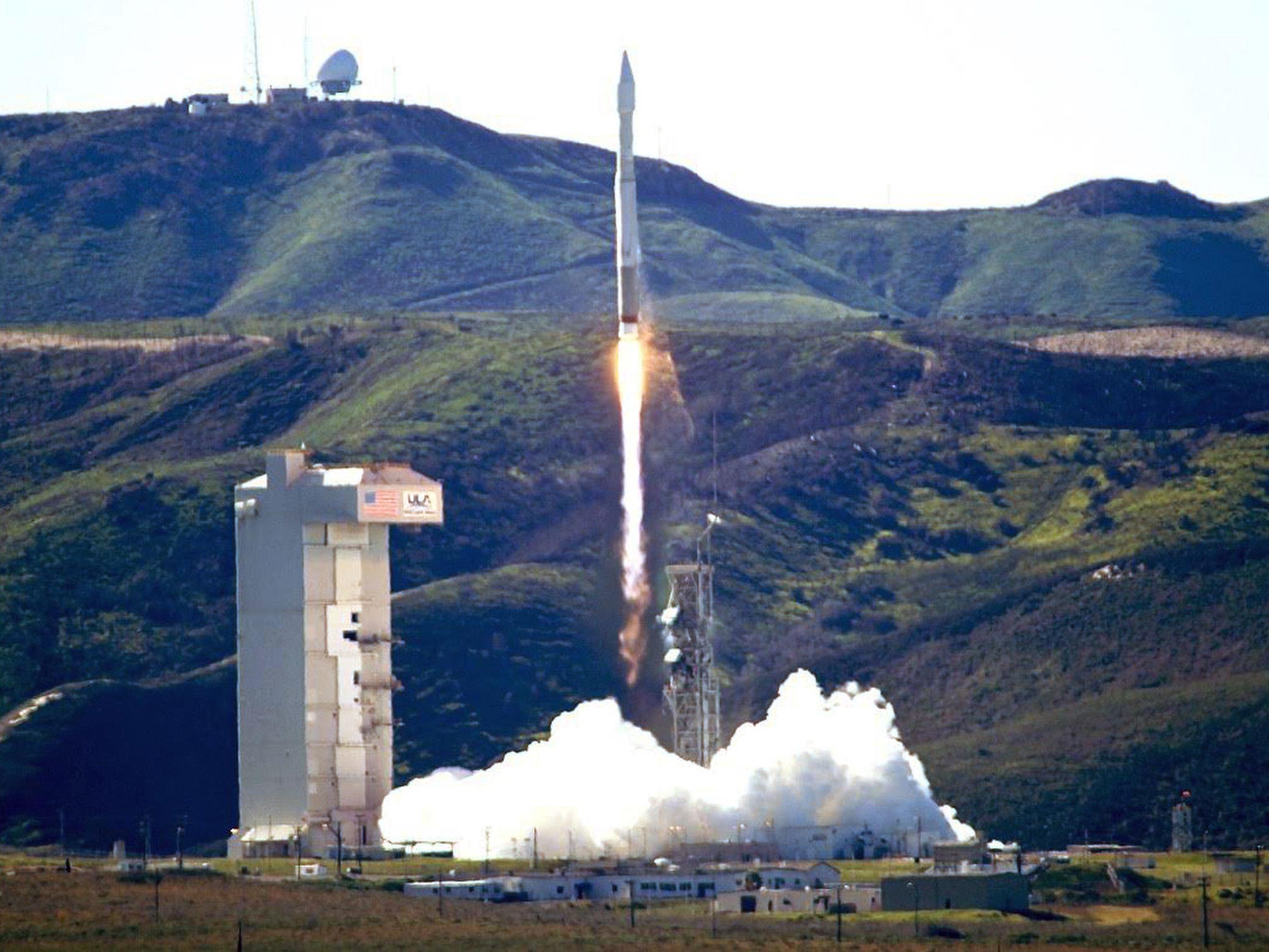 Die Atlas-5-Rakete ist erfolgreich gestartet.