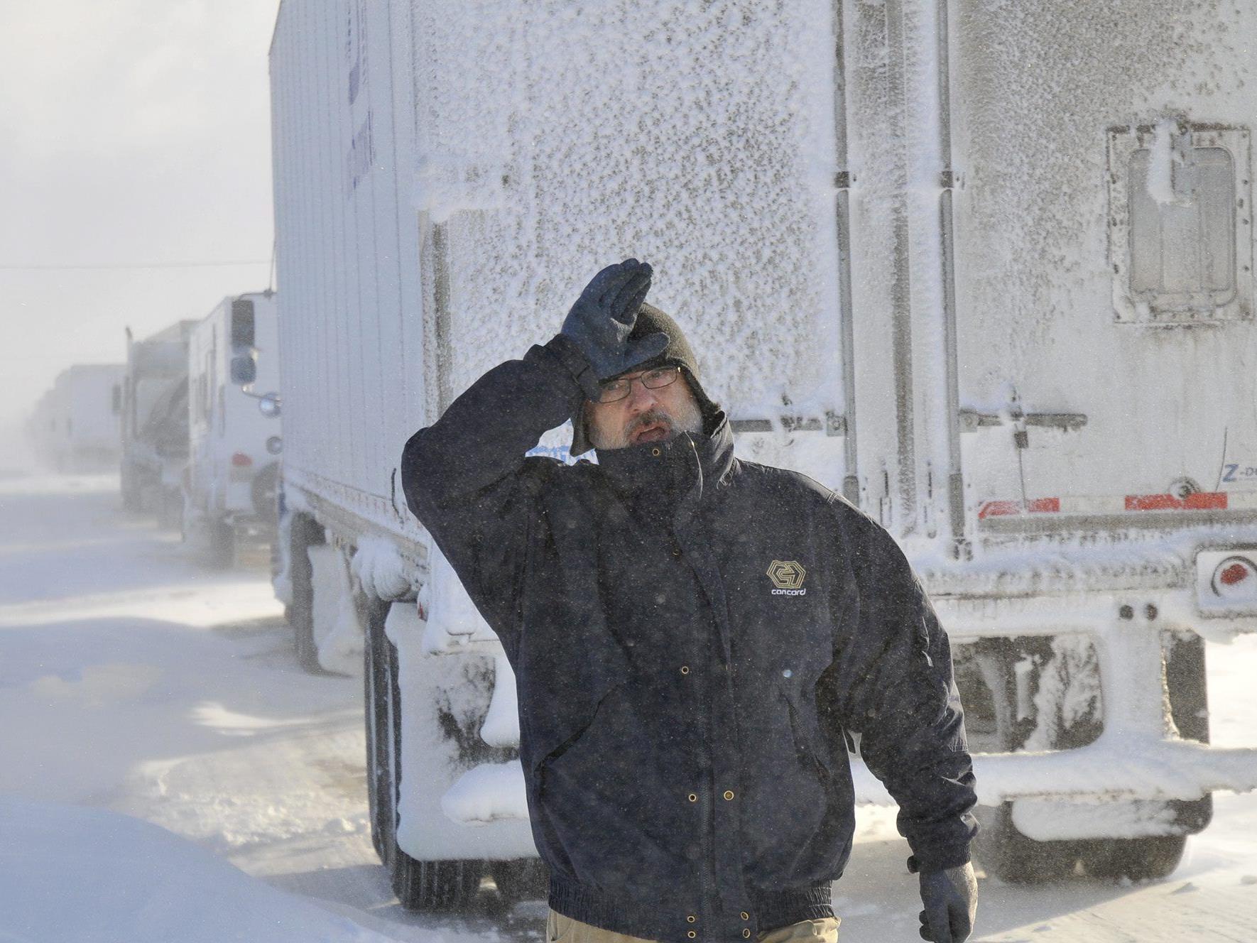 Der Winter in den USA kann sehr ungemütlich werden.