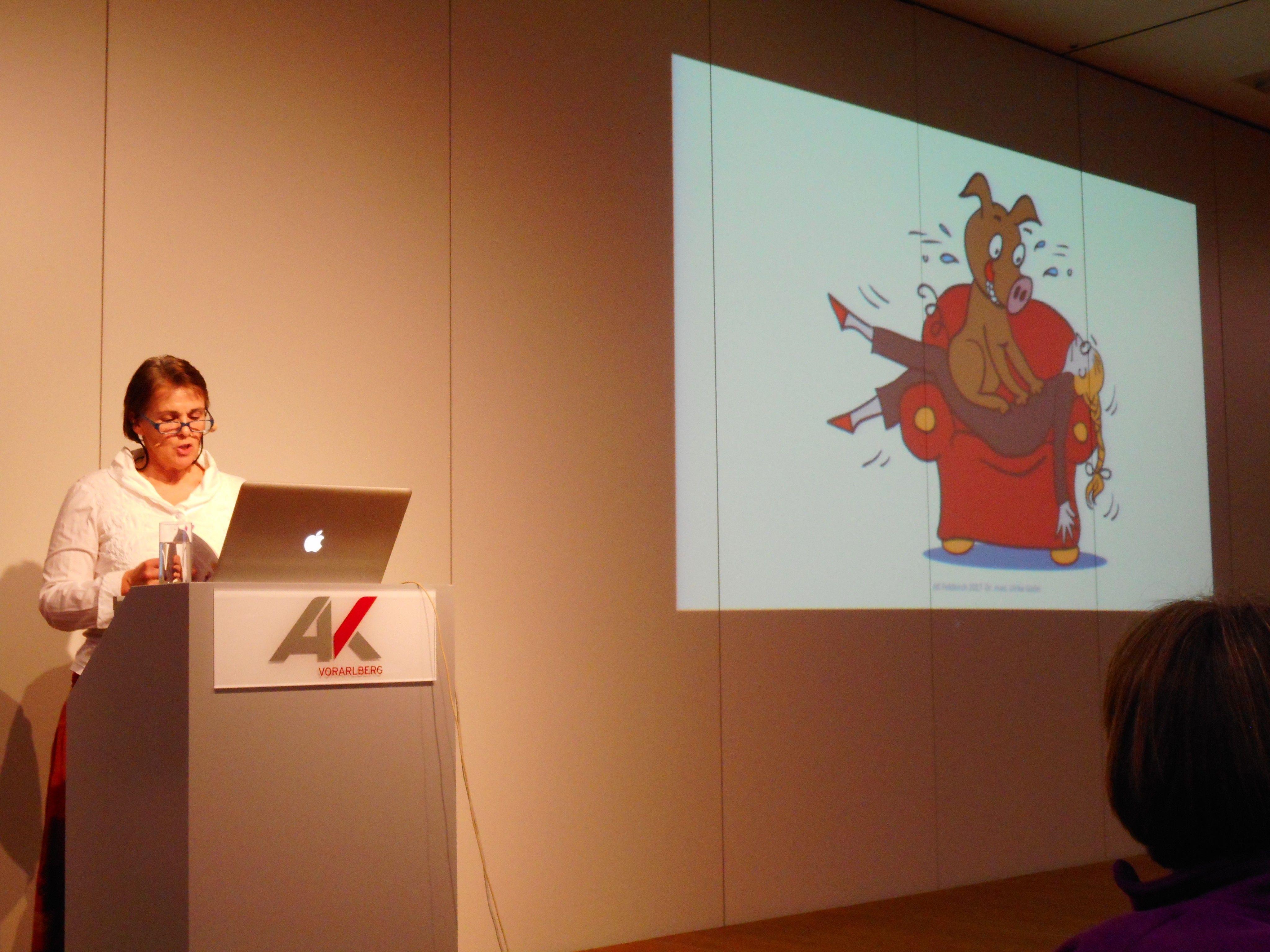 """Ulrike Güdel dachte darüber nach, wie wir in den Wechseljahren mit dem """"inneren Schweinehund"""" umgehen können."""