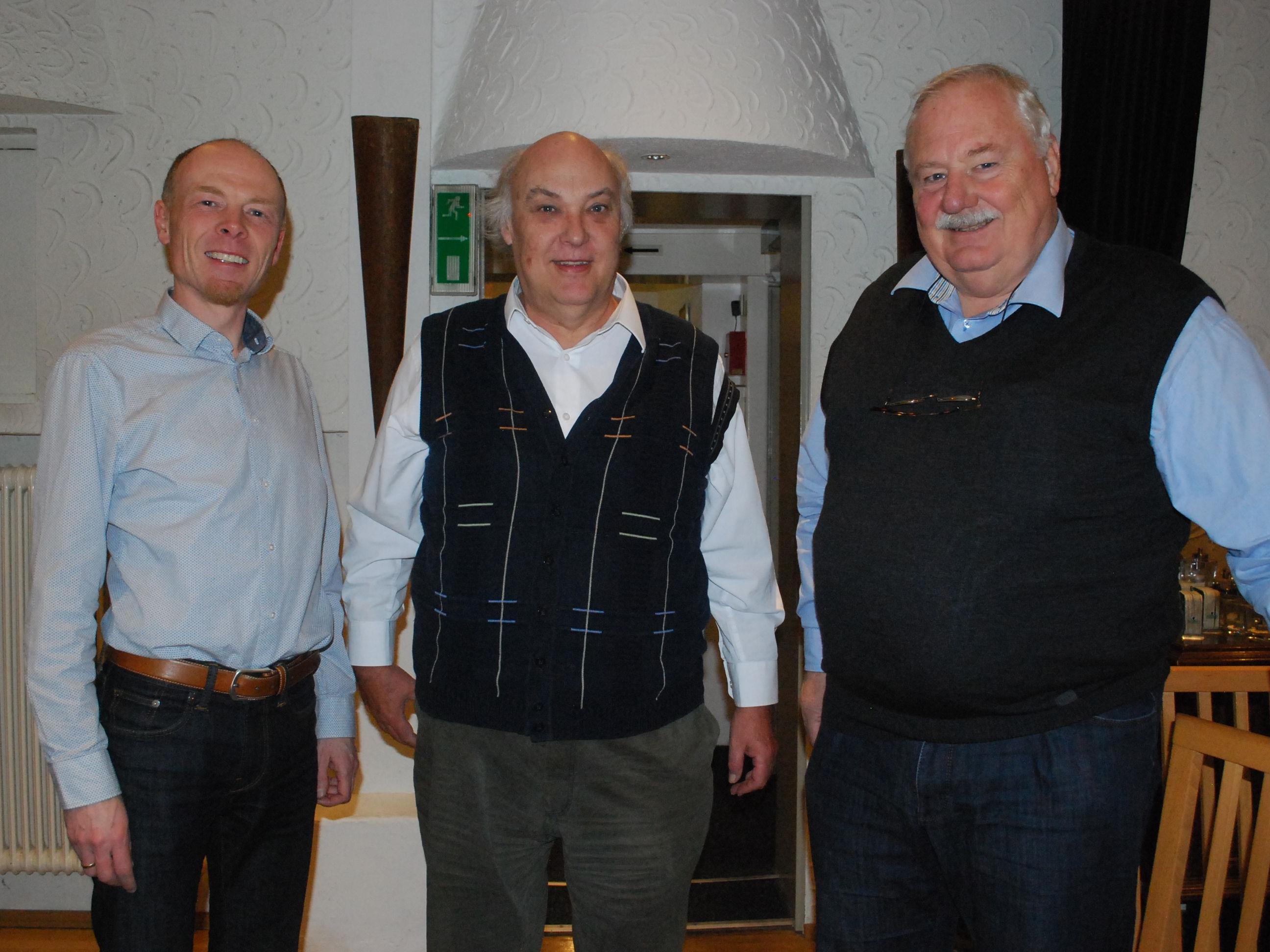 Harald Rhomberg, Stadtarchiv, Norbert Fink, Autor, Ulrich Rhomberg, Geschichtswerkstatt (vl)