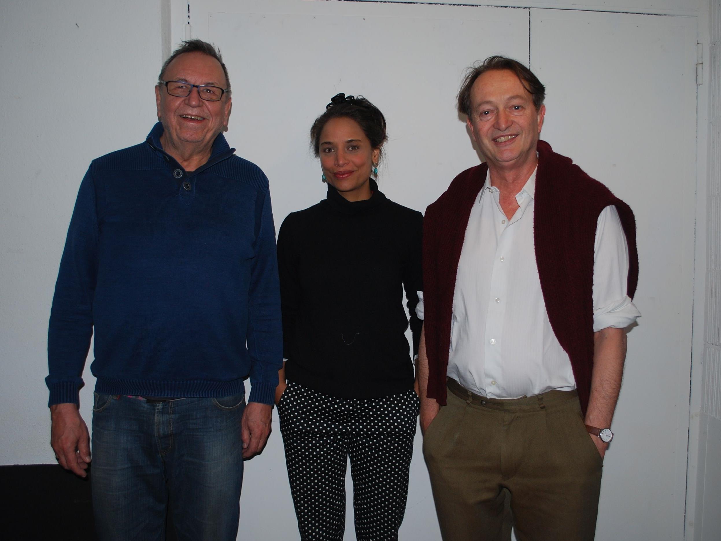 Ulrich Gabriel, Ligia Fonseca, Adrian Vonwiller (vl)