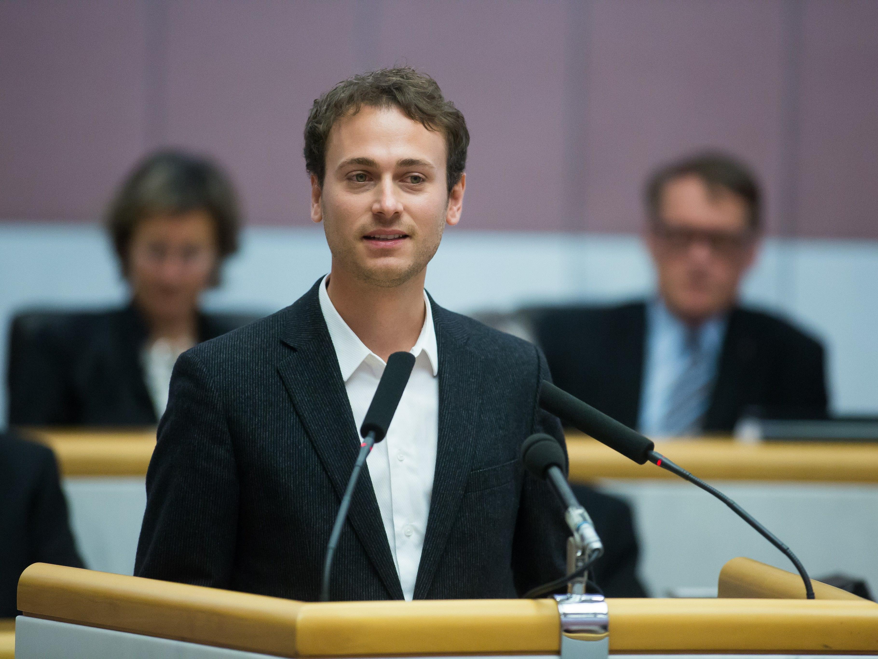 Auch Daniel Zadra von den Grünen hatte den Familienzuschuss kritisiert.