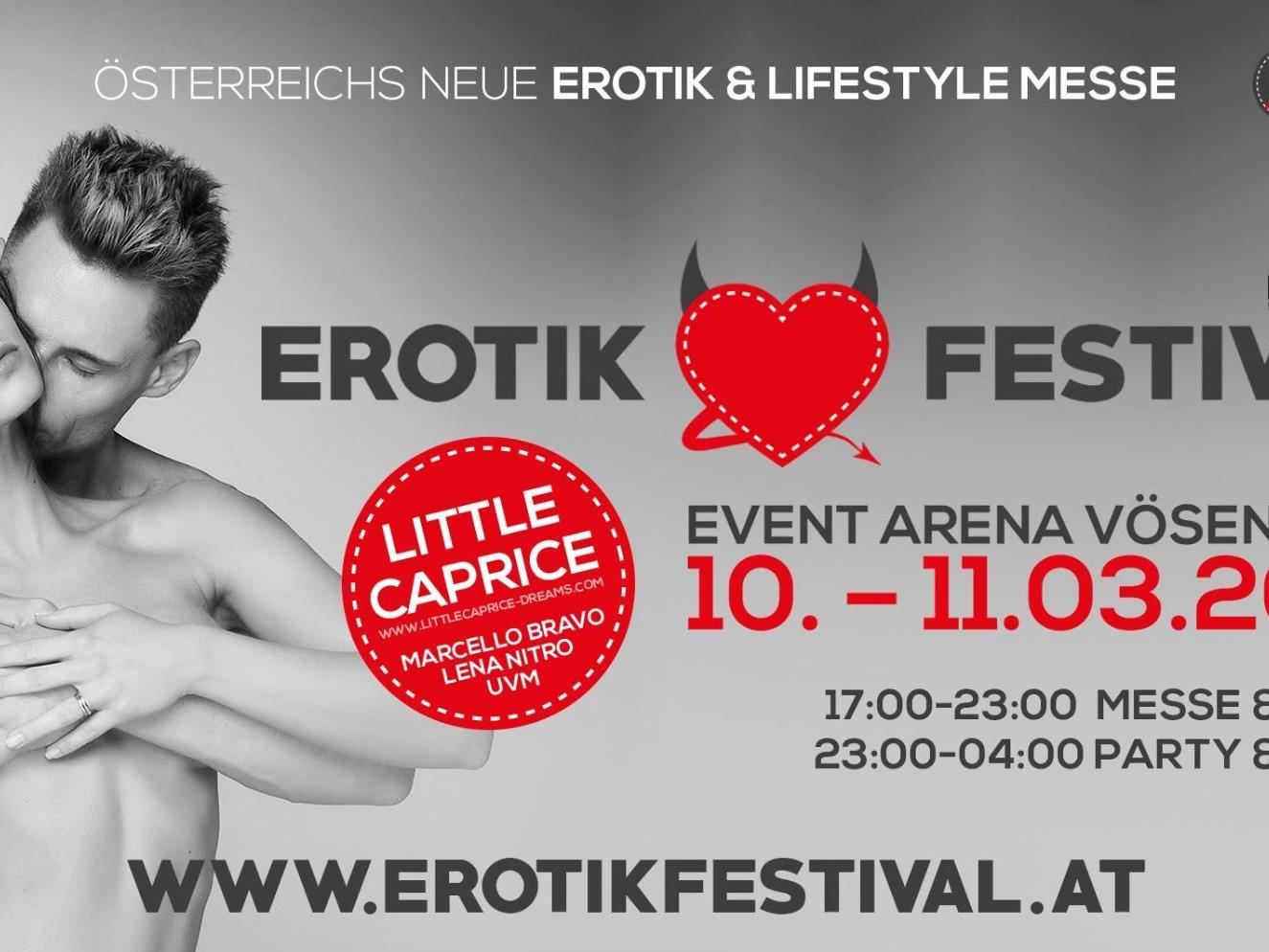 Das Erotik Festival 2017 in der Event Arena Vösendorf wurde abgesagt.