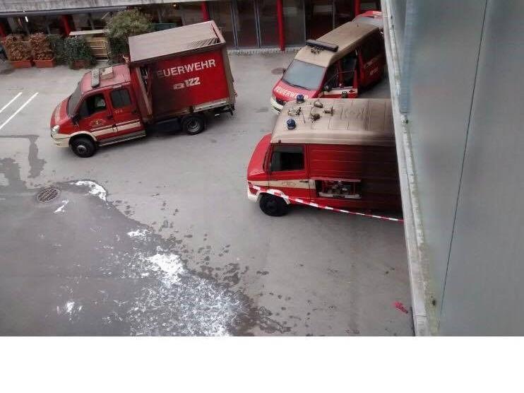 Bei der Feuerwehr Bregenz hat es gebrannt.