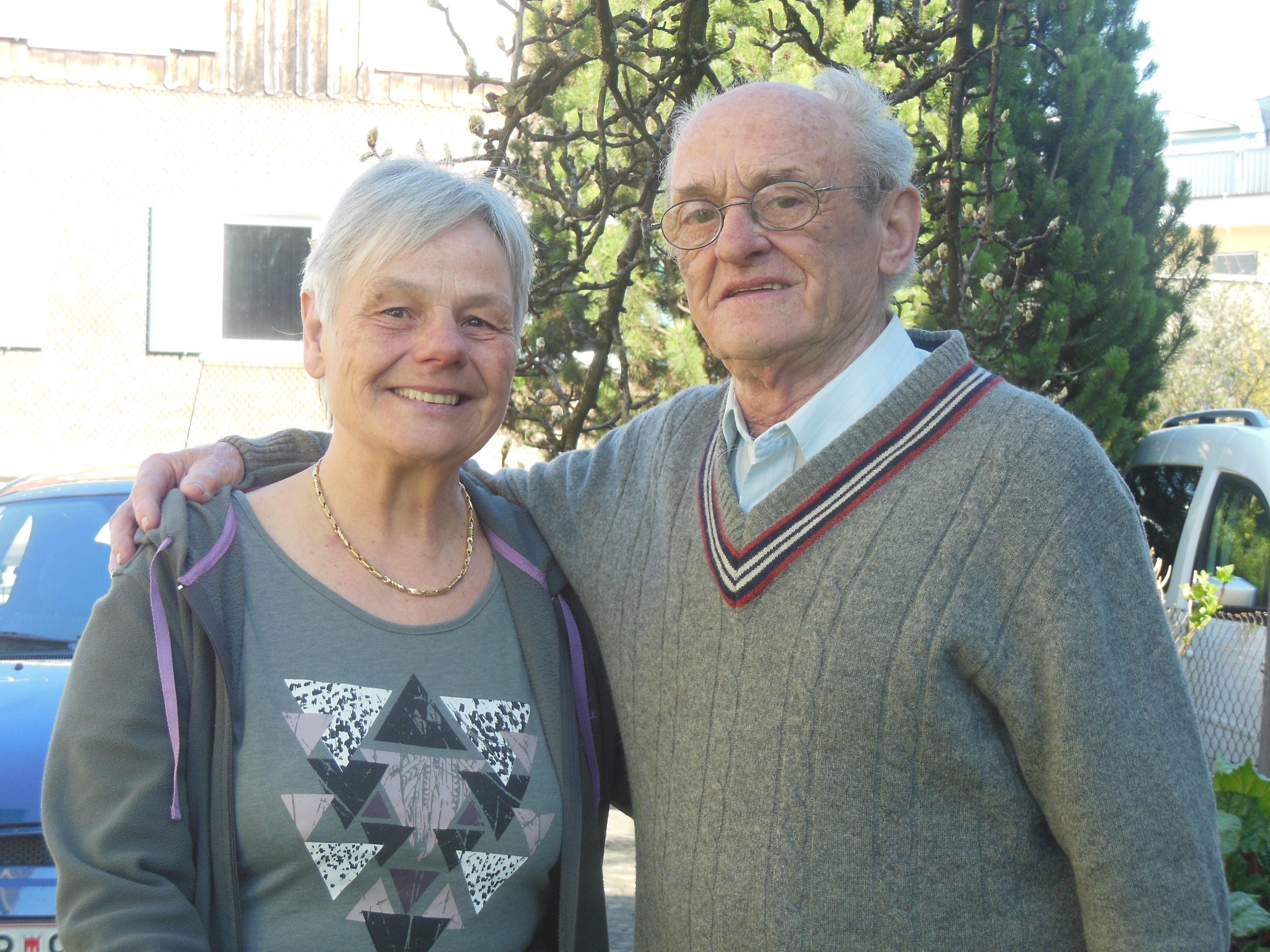 50 Ehejahre sind schnell vergangen und gerne blicken Erna und Laurentius auf schöne Jahre zurück.