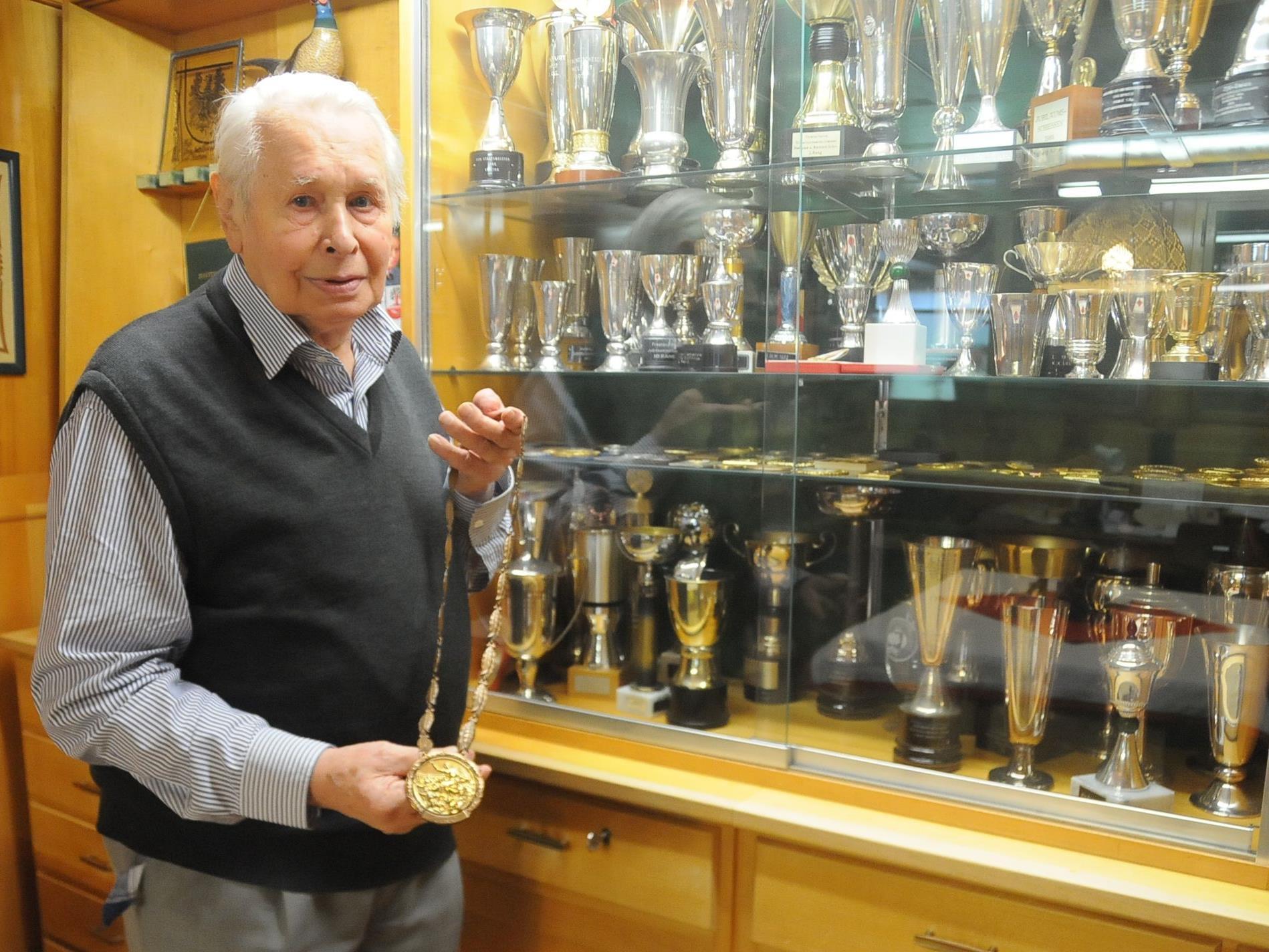 Der Olympiasieger Hubert Hammerer aus Egg ist verstorben.