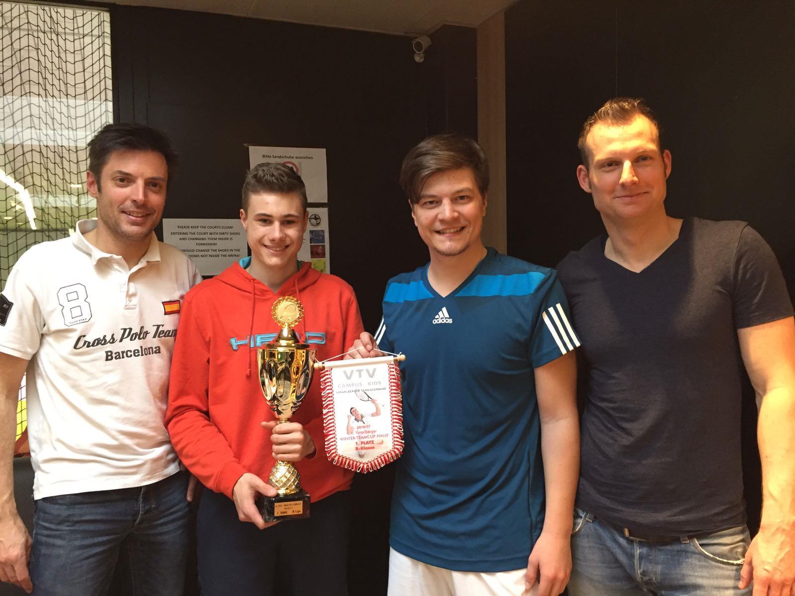 Der TC Hörbranz holte sich den Sieg beim Wintercup.