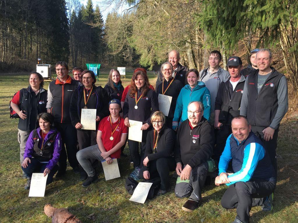 BSV-SchützInnen beim Turnier in Sigmaringen