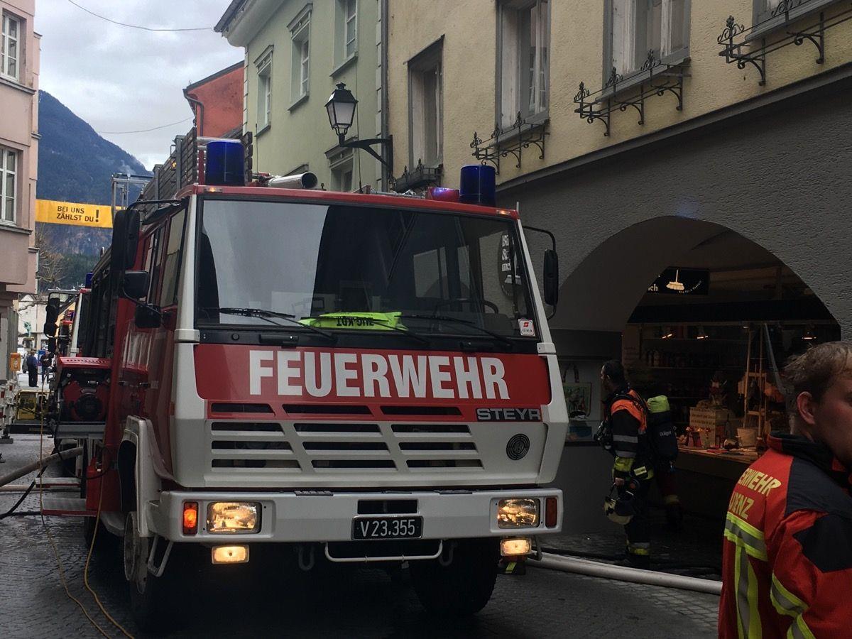 Erneute Brandstiftung in Bludenz