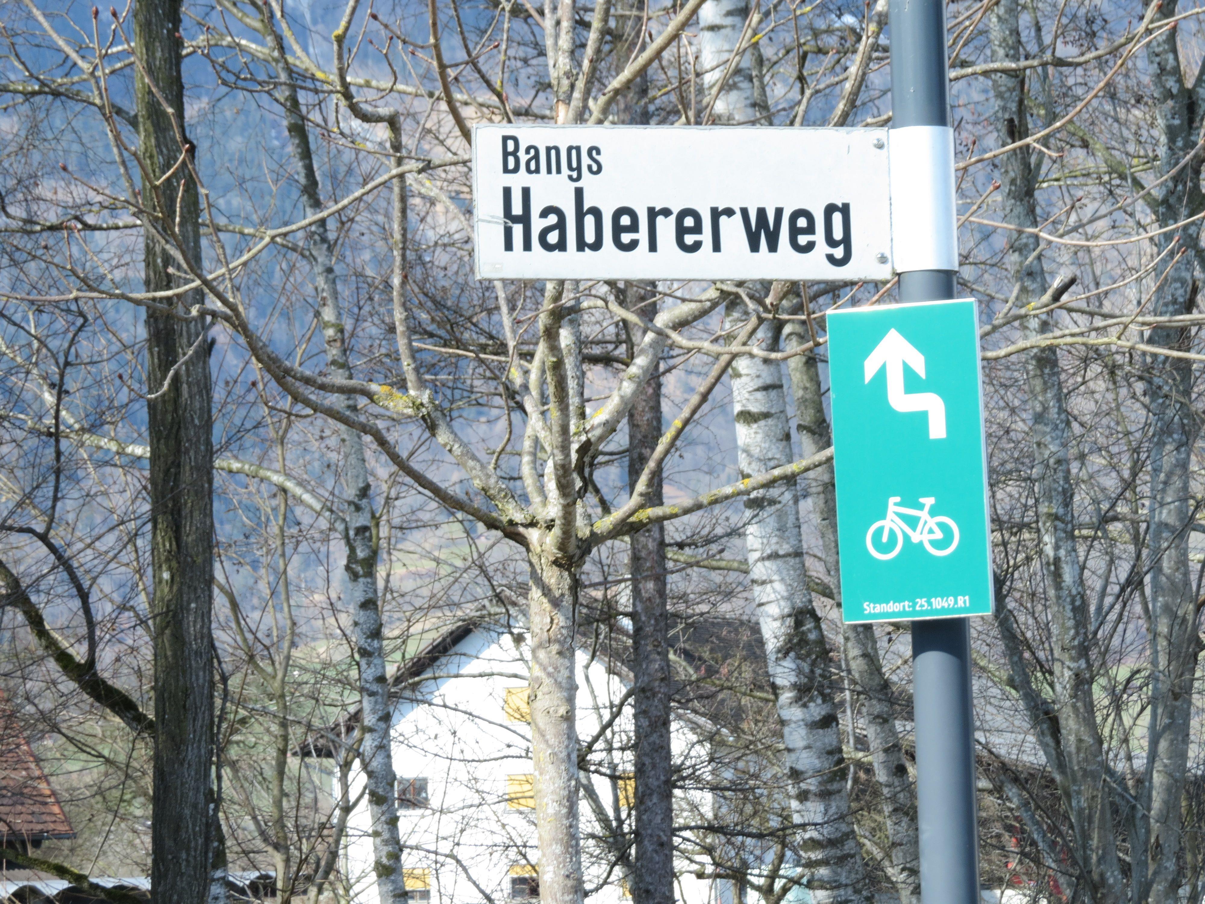 Der Habererweg - für viele Wanderer ein beliebtes Fotomotiv - ist unweit von der Kapelle Bangs gelegen.