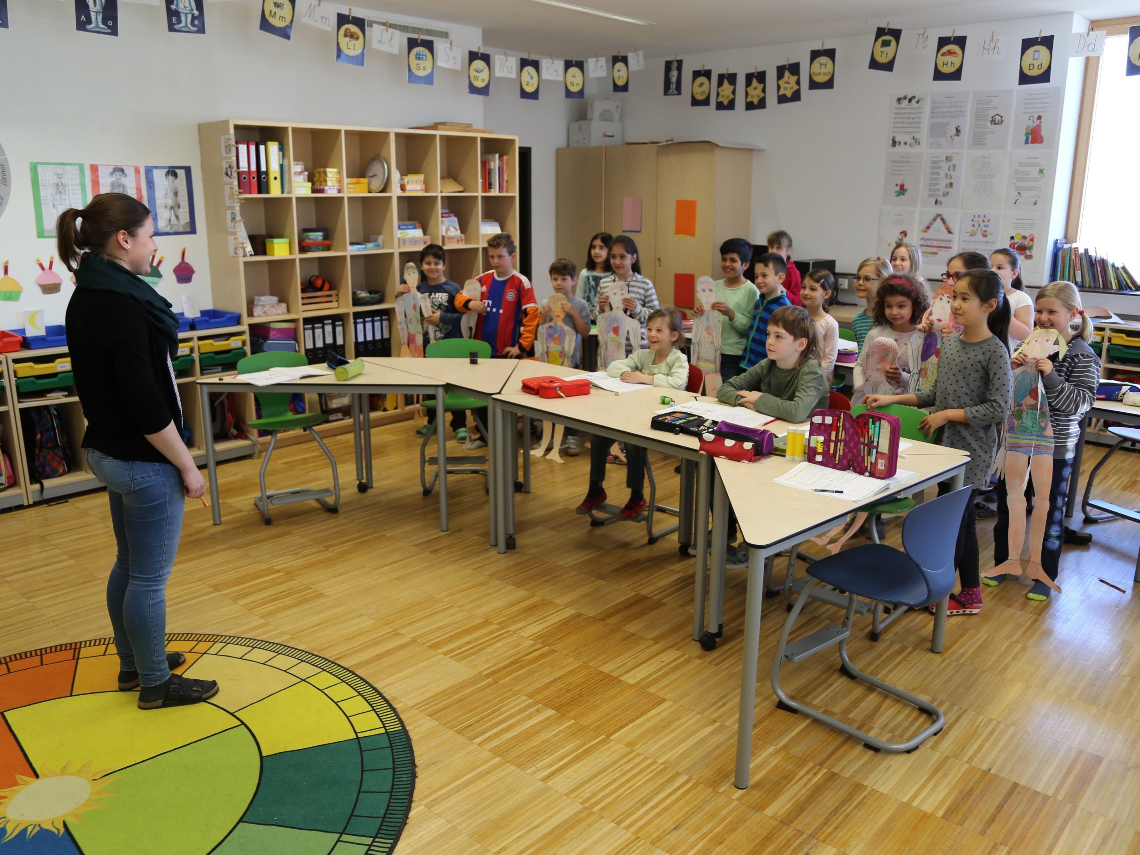 Die Stunden gestalten sich in der Volksschule Oberau sehr flexibel – so soll der individuelle Lernerfolg optimiert werden.