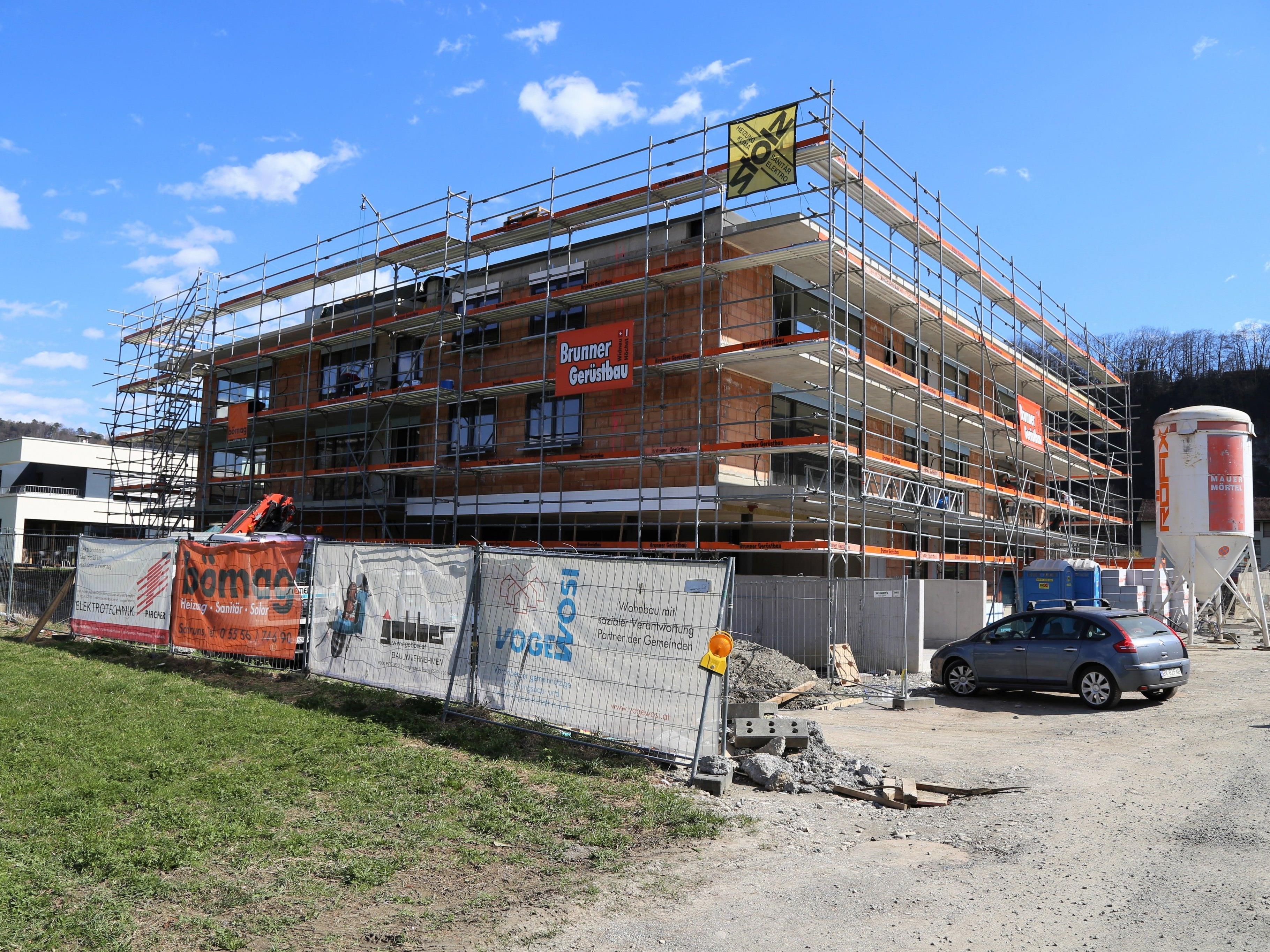 Das Pilotprojekt mit 18 Wohneinheiten wird in Feldkirch-Tosters umgesetzt.