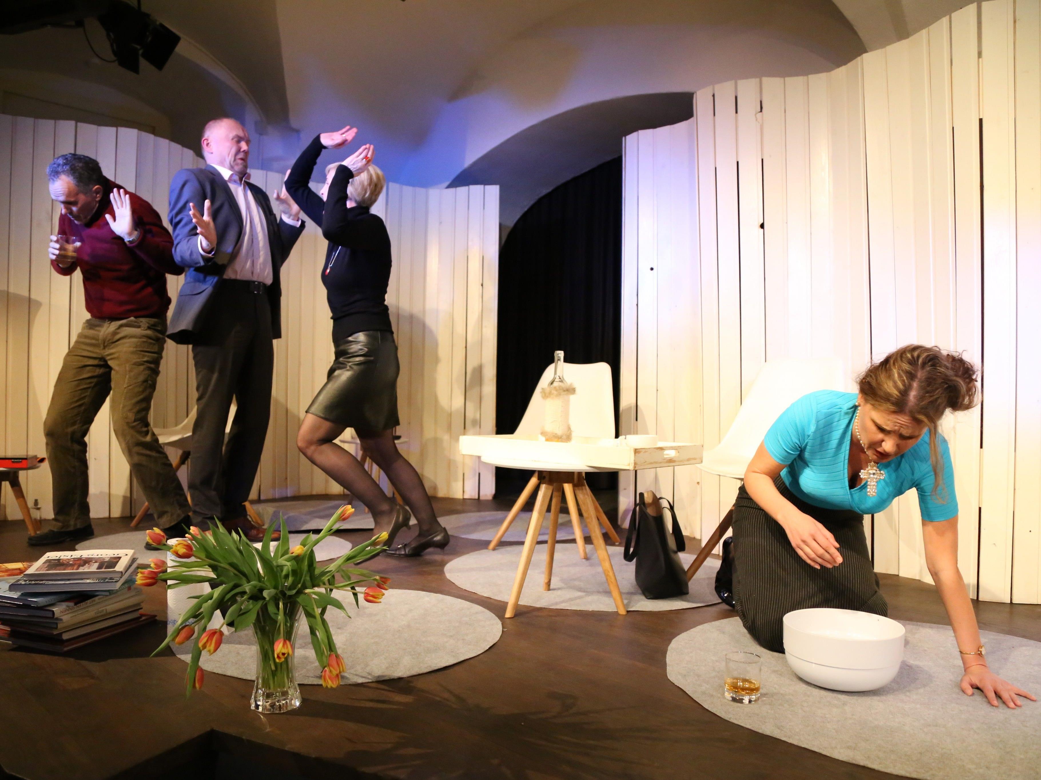 Susanna Ackermann, Elke Kikelij-Schwald, Hanno Dreher und Karl Müller sorgten für ein besonderes Theatererlebnis.