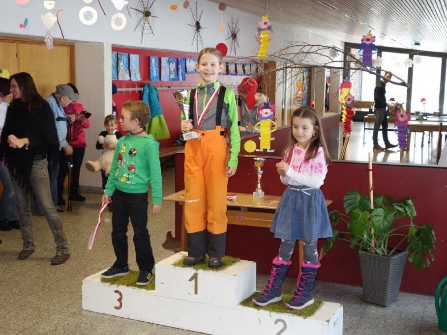 Kindergarten- und Schülerschirennen Wald a. A.