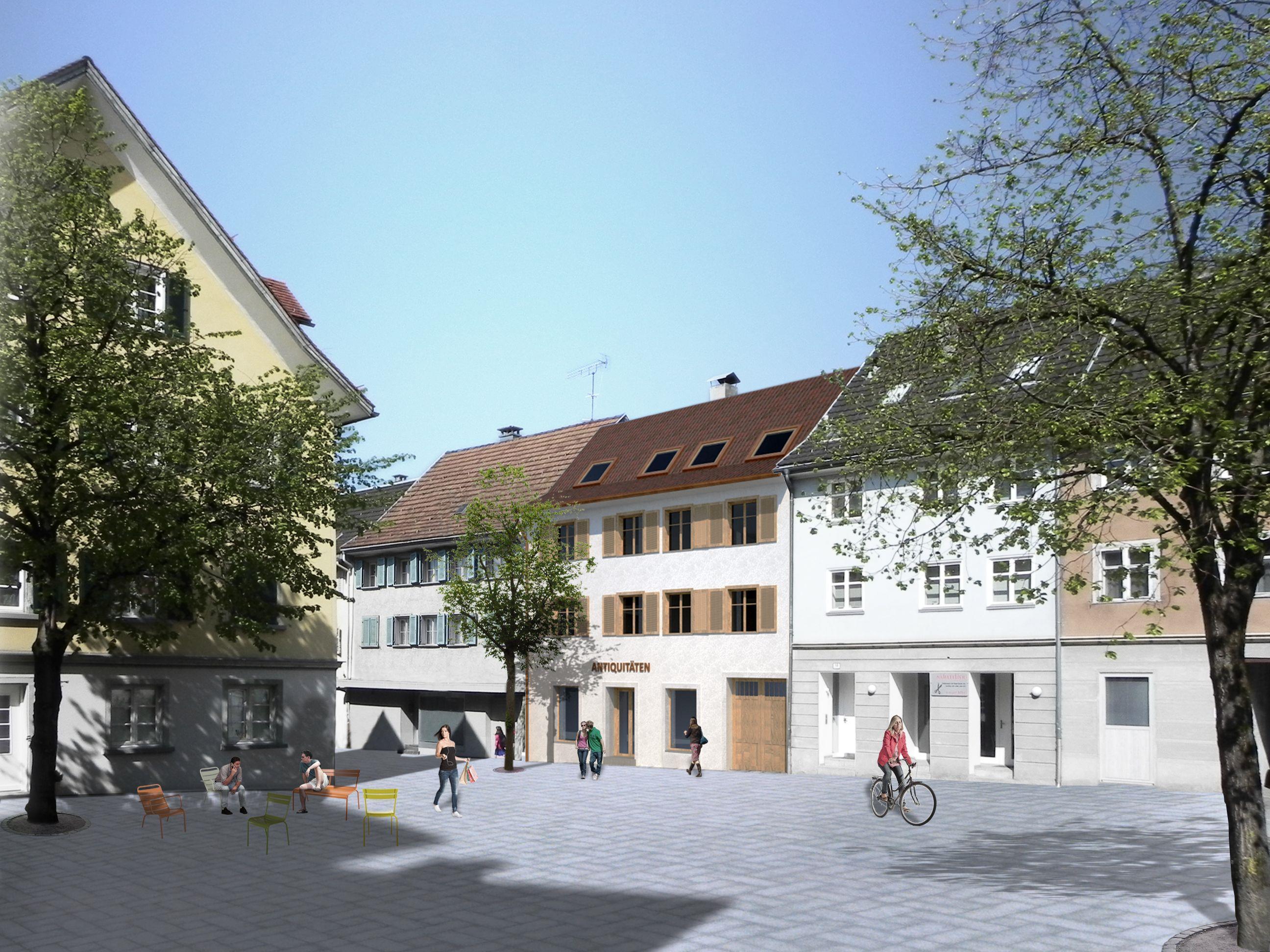 Im Mai beginnt die Sanierung des denkmalgeschützten Gebäudes in der Marktstraße 20.