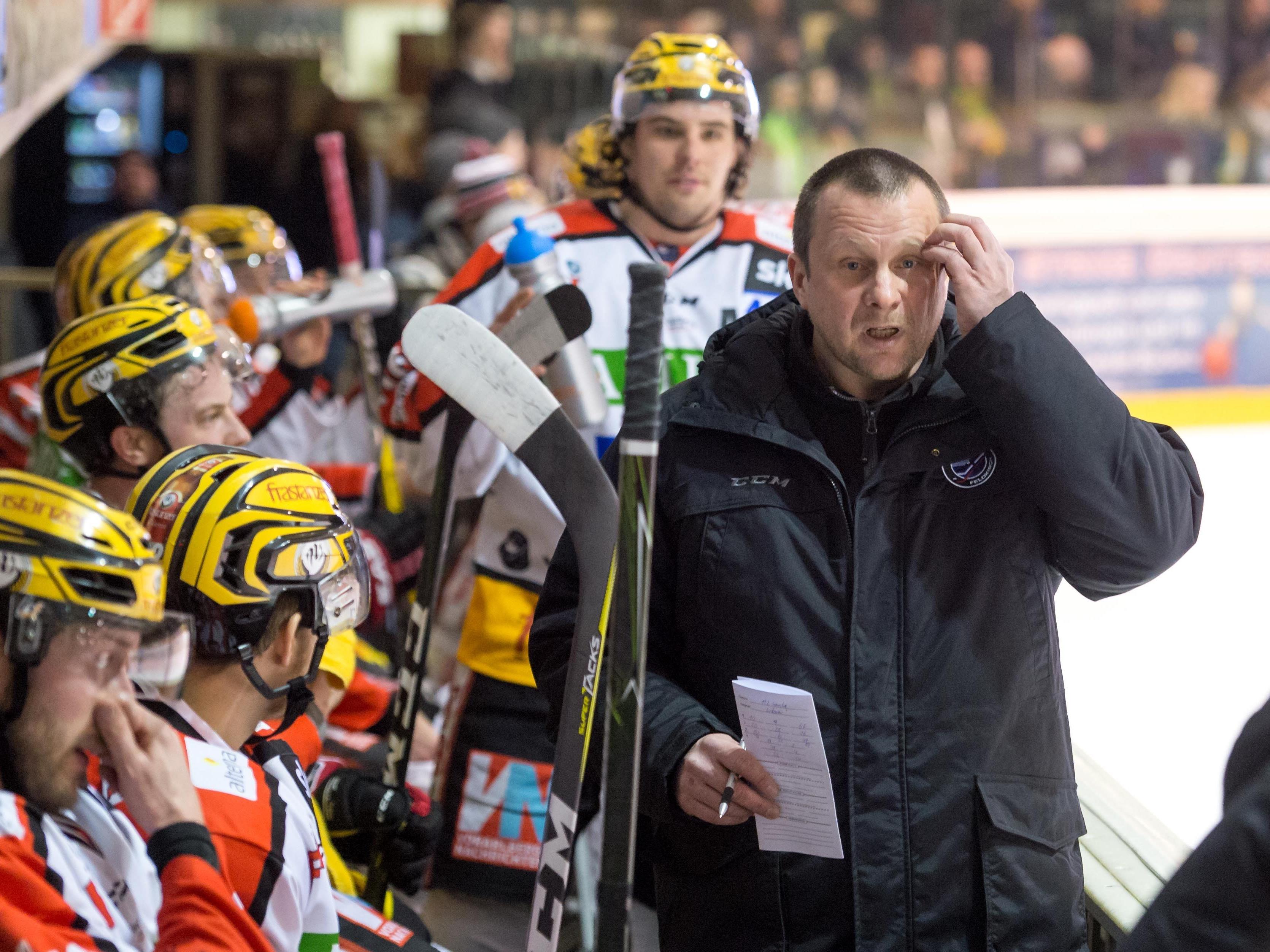 VEU-Coach Michael Lampert nimmt kein Blatt vor den Mund.