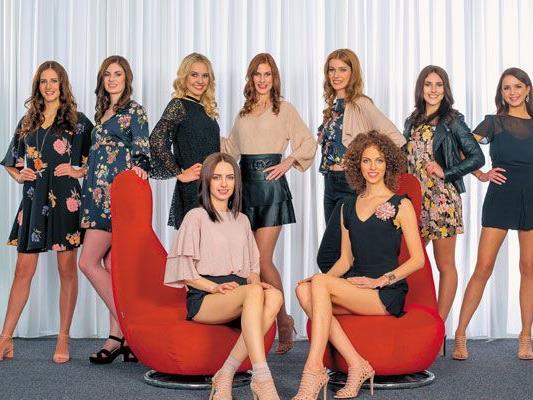 Das sind die neun Kandidatinnen für die Wahl zur Miss Vorarlberg.