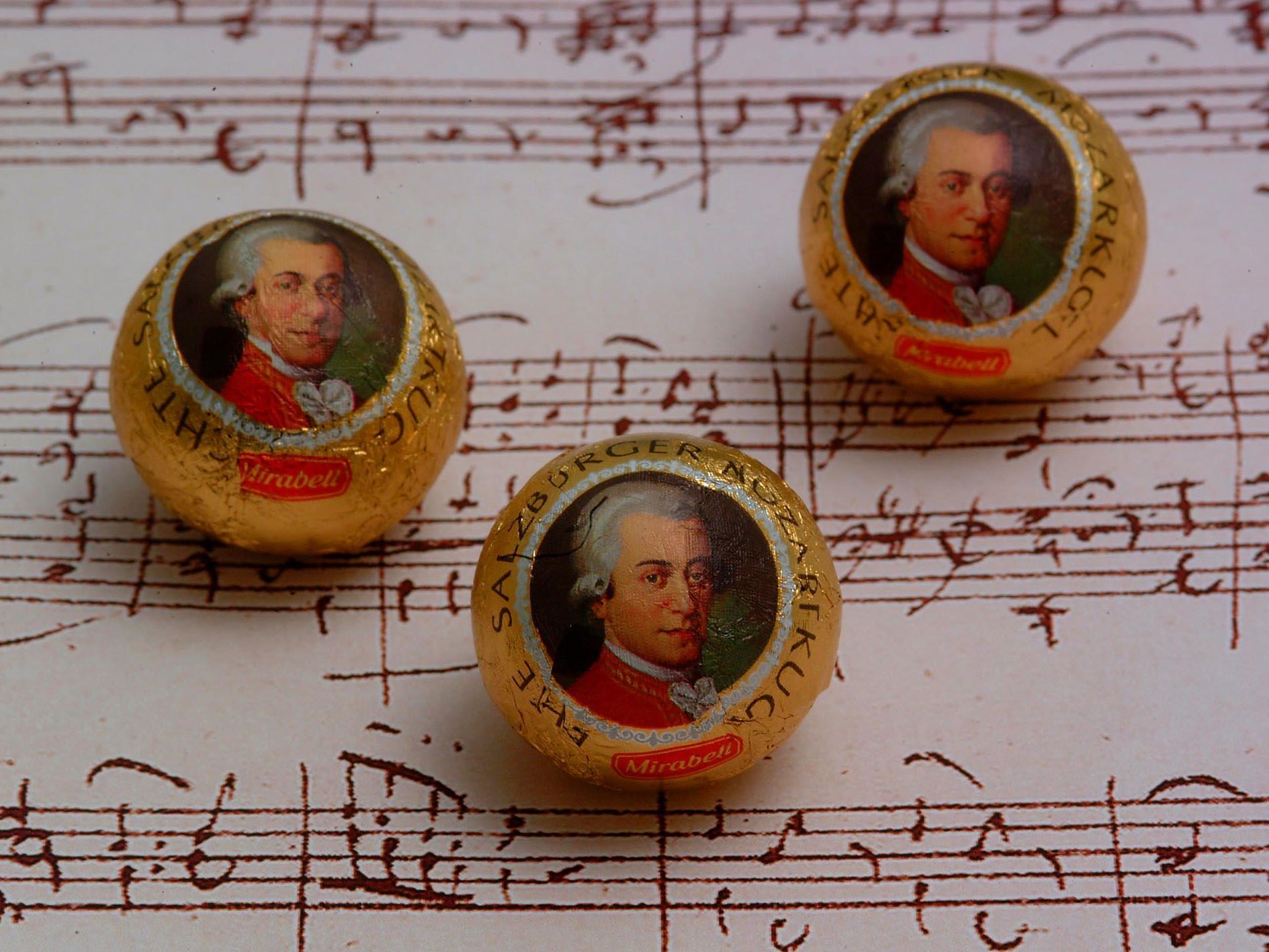 Mozartkugeln sind auch außerhalb Österreichs beliebt.
