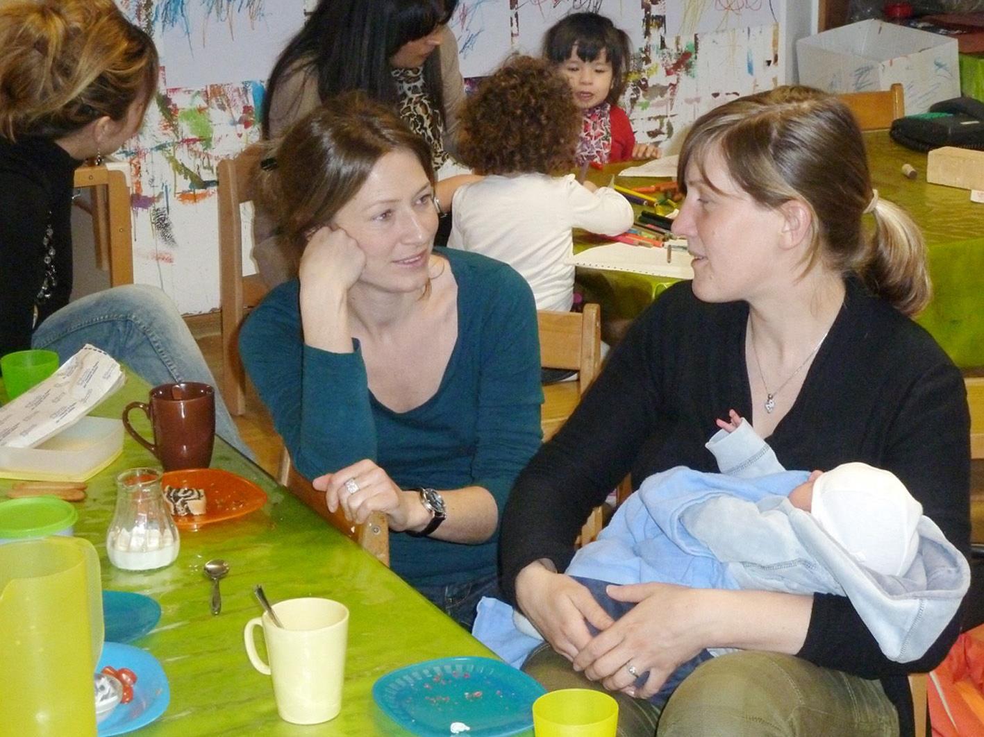 """Der """"Treffpunkt Ringareia"""" ist für Babys und Kleinkinder sowie deren Begleitpersonen und Geschwister gedacht."""
