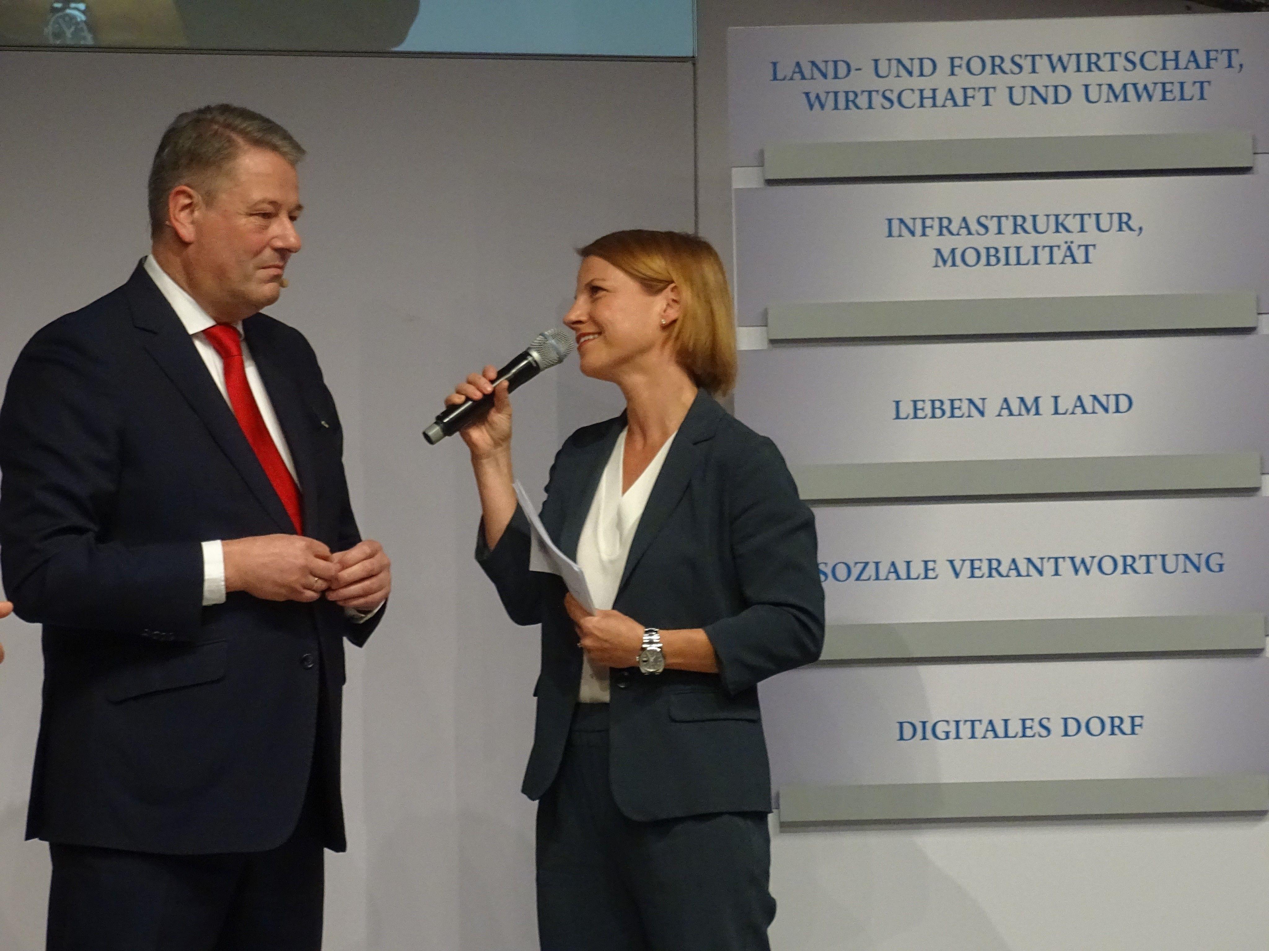 Bundesminister Andrä Rupprechter sieht in der Stärkung der ländlichen Regionen einen wesentlichen Schritt für die Zukunft Österreichs.