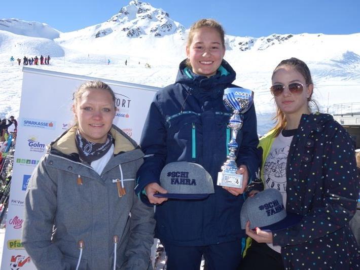 Die Snowboarderinnen des SG Dornbirn holten sich den Sieg.