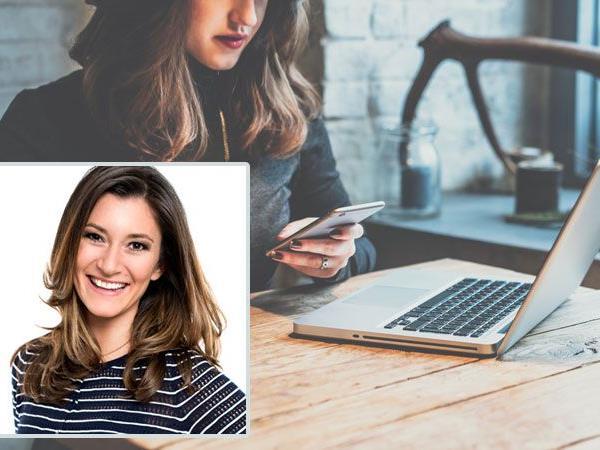 Sandra Thier von Diego5 spricht auf der IAW über Influencer