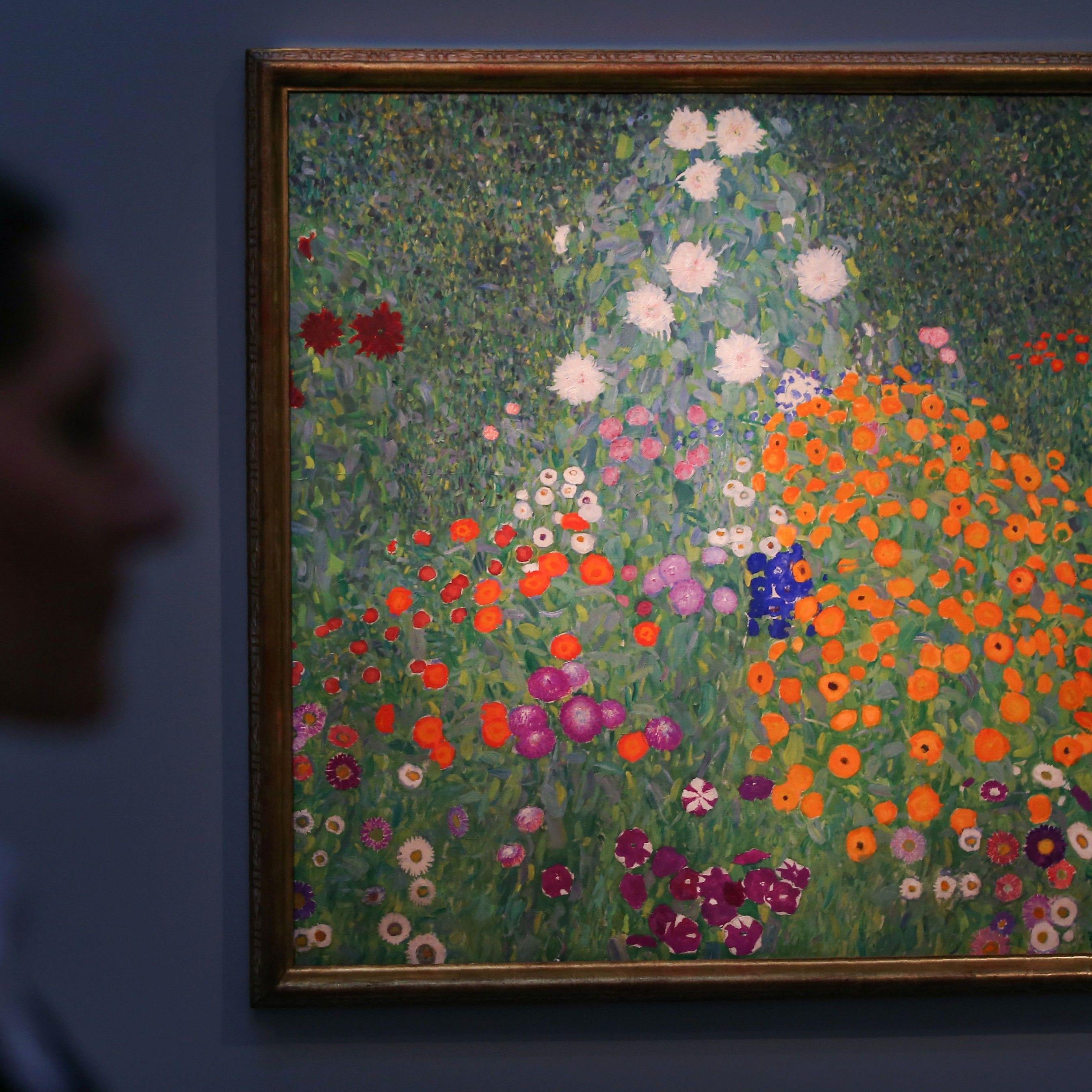 """Ebenfalls in London versteigert: Klimts """"Bauerngarten"""" aus 1907"""