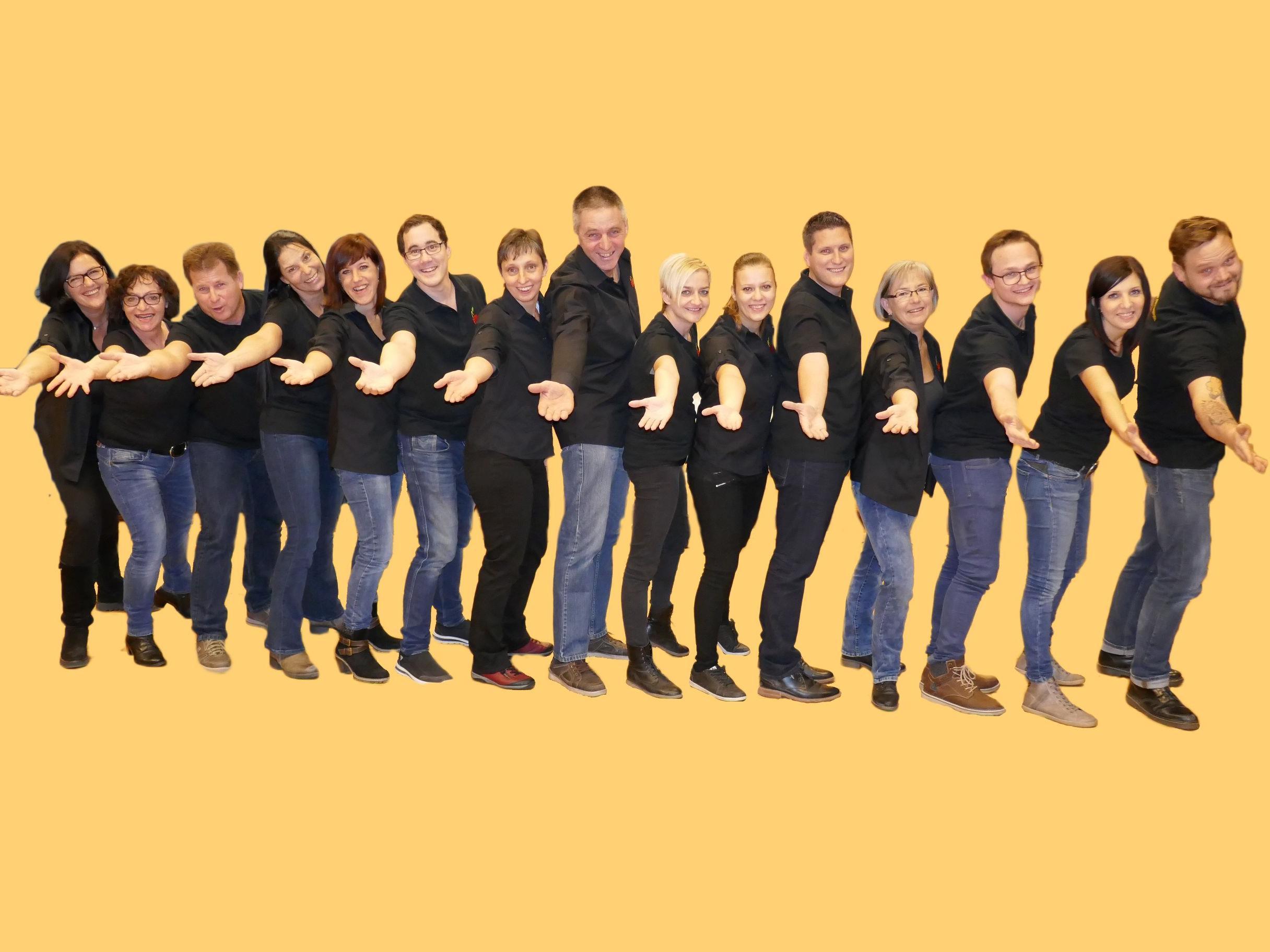 Die Crew des Theatervereins Fraxern freut sich auf die Premiere ihres neuen Stückes Anfang April.