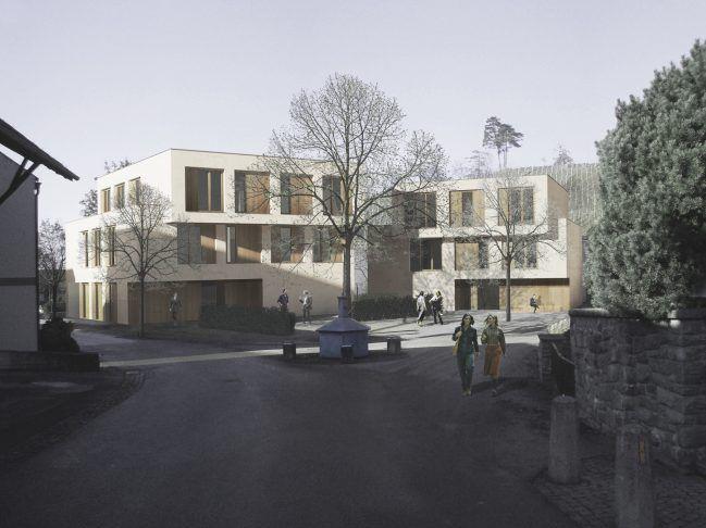 """So stellen sich die Projektbetreiber das Nachfolgeprojekt für den """"Torggel"""" in Röthis vor."""
