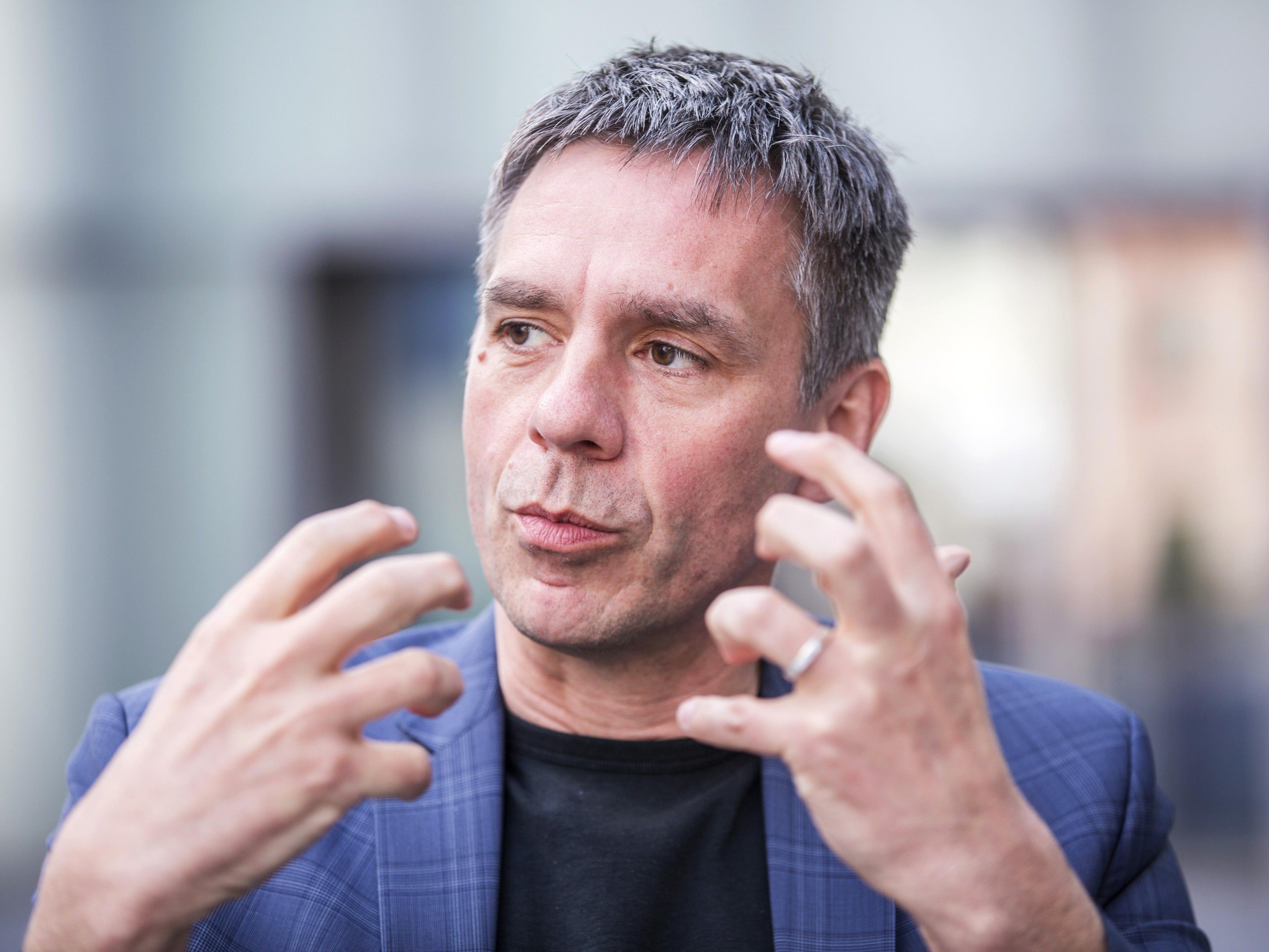 Seit zwei Jahren Direktor des Kunsthaus Bregenz: Der gebürtige Steirer Thomas D. Trummer.