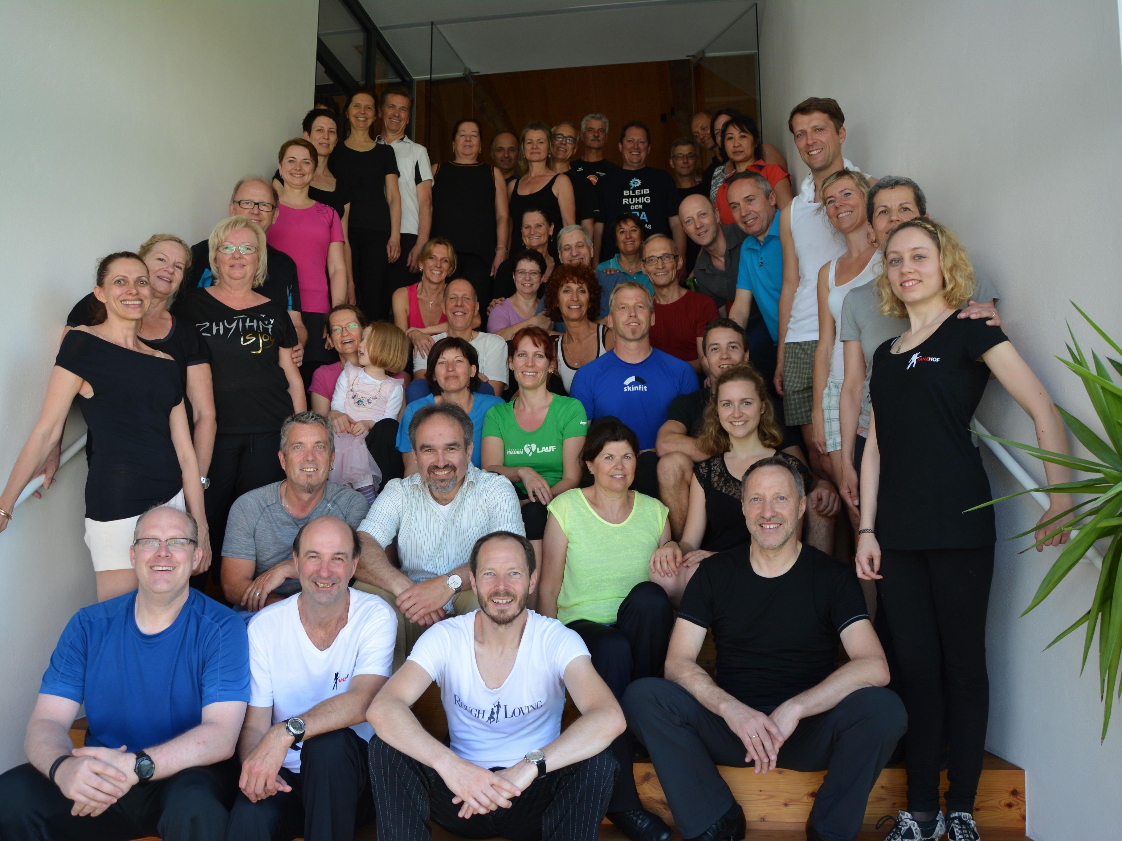 Der Tanzsportclub Blau-Gold Dornbirn - Lustenau- Koblach freut sich auf die Staatsmeisterschaft Latein Ende März