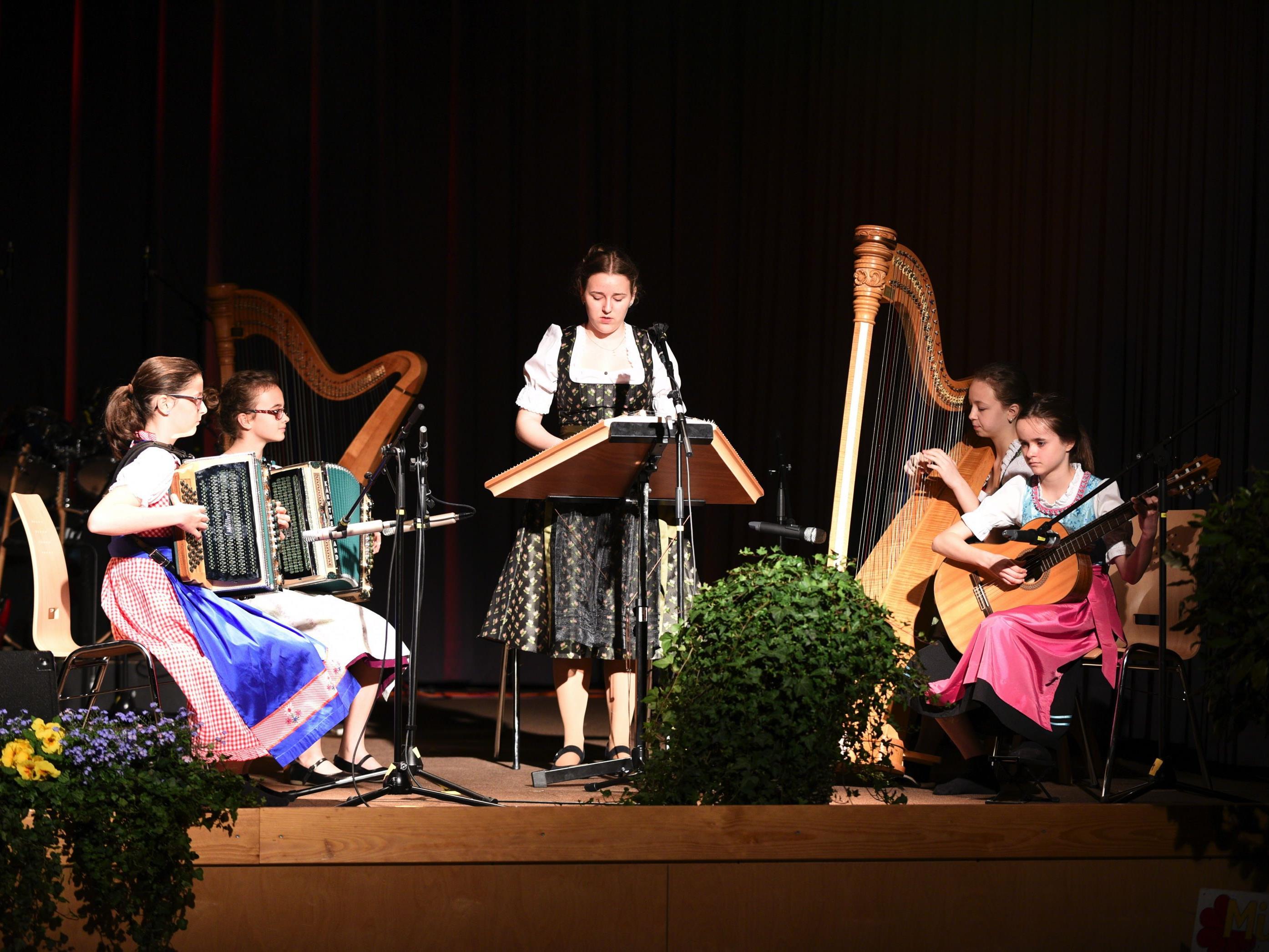 Frühjahrskonzert der Musikmittelschule Thüringen