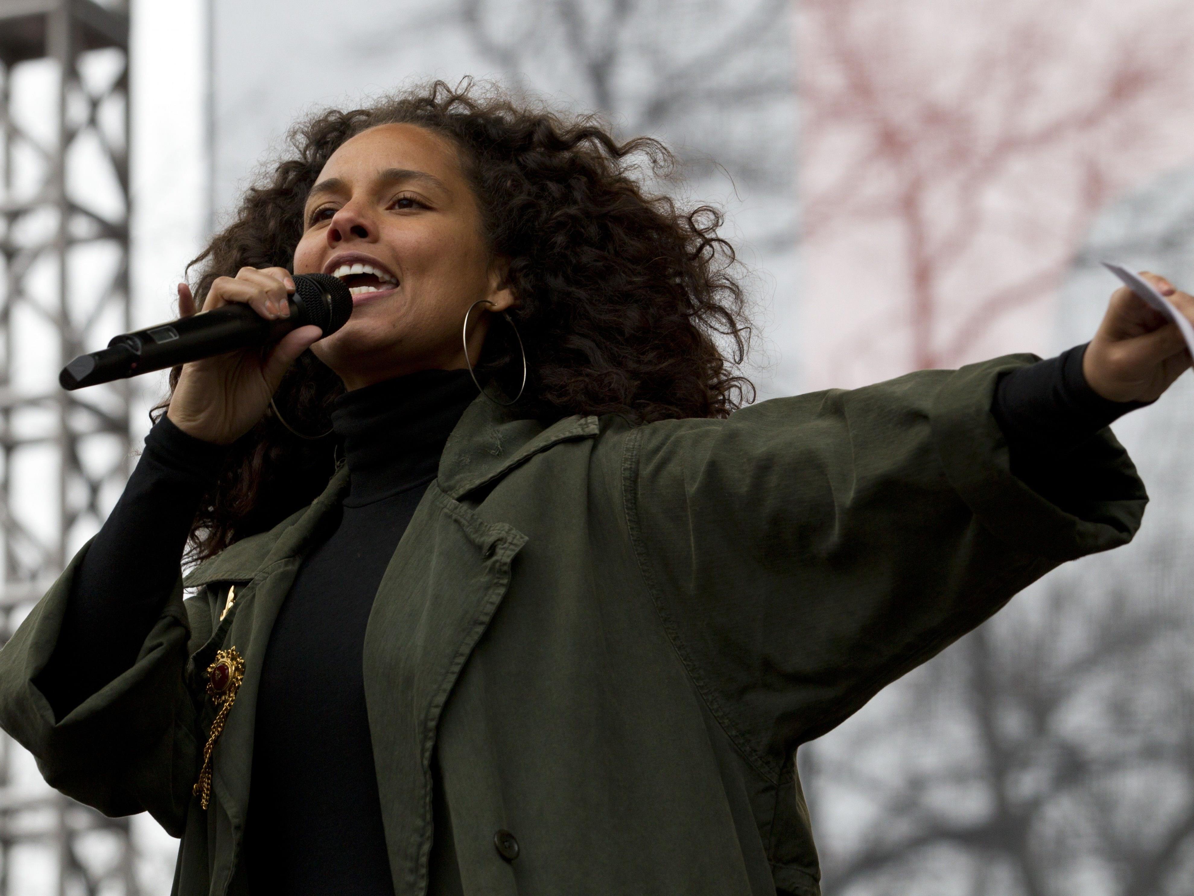 Alicia Keys bezeichnet sich selbst als Feministin.
