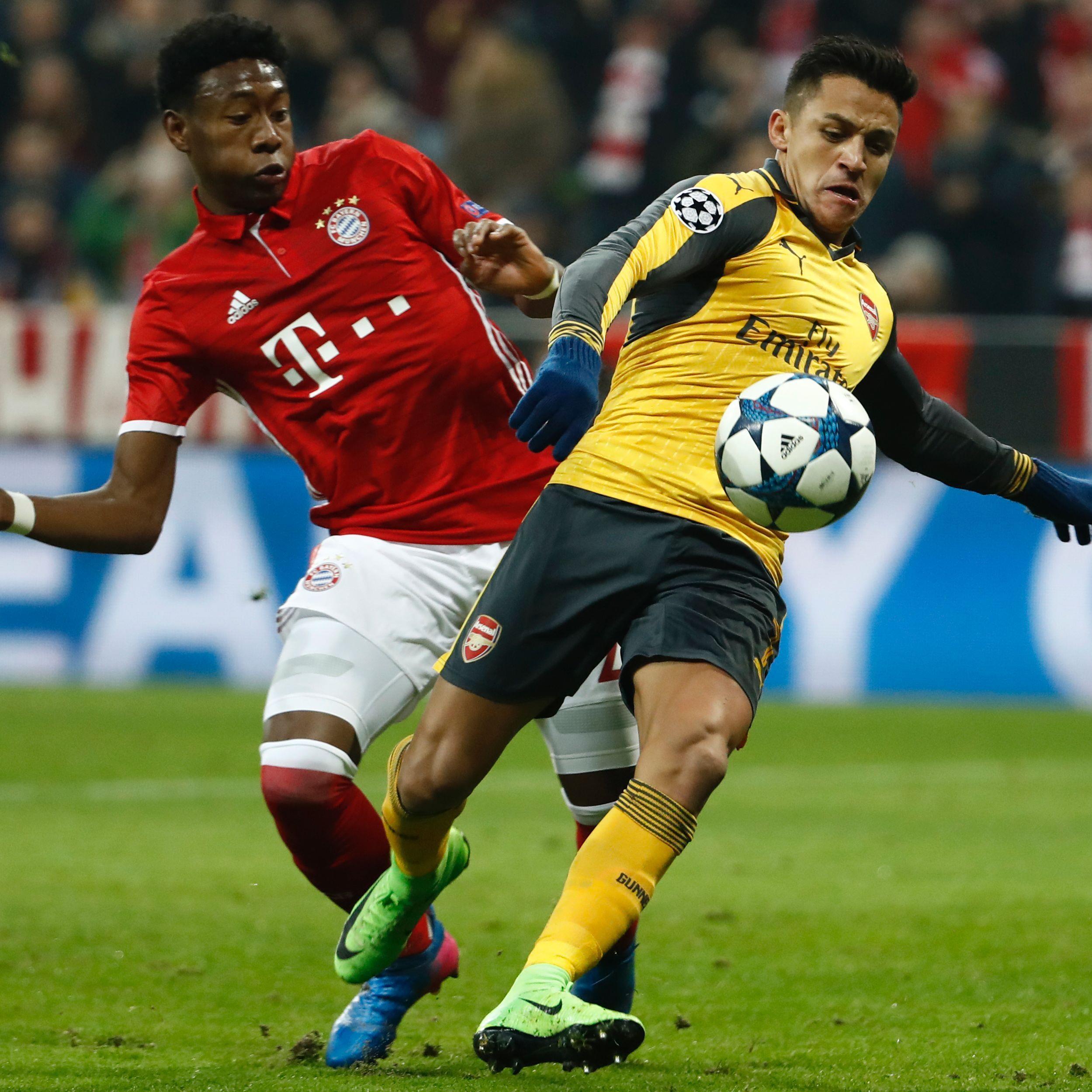Das Rückspiel in London ist nach Bayerns Hinspiel-Kantersieg gegen Arsenal nur noch Formsache.