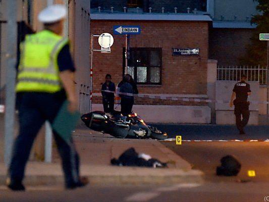 Ein Polizist wurde von einem Häftling niedergefahren