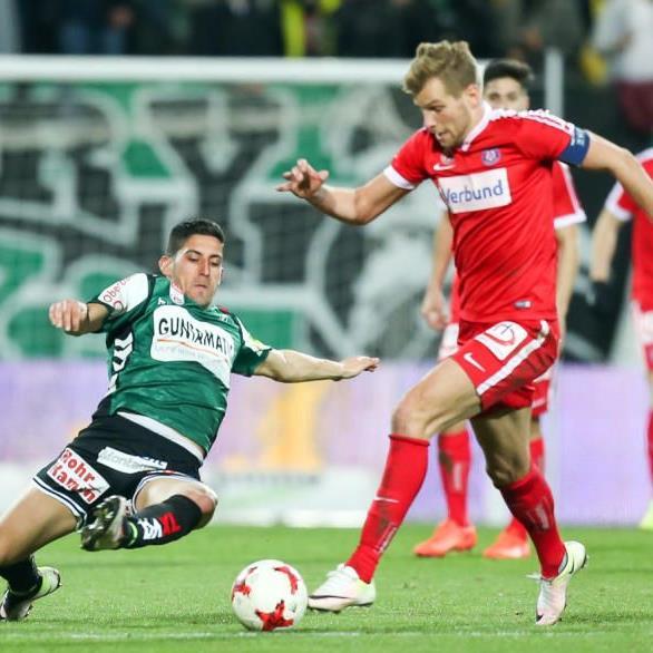 Die Austria erspielte sich am Samstag den Sieg.