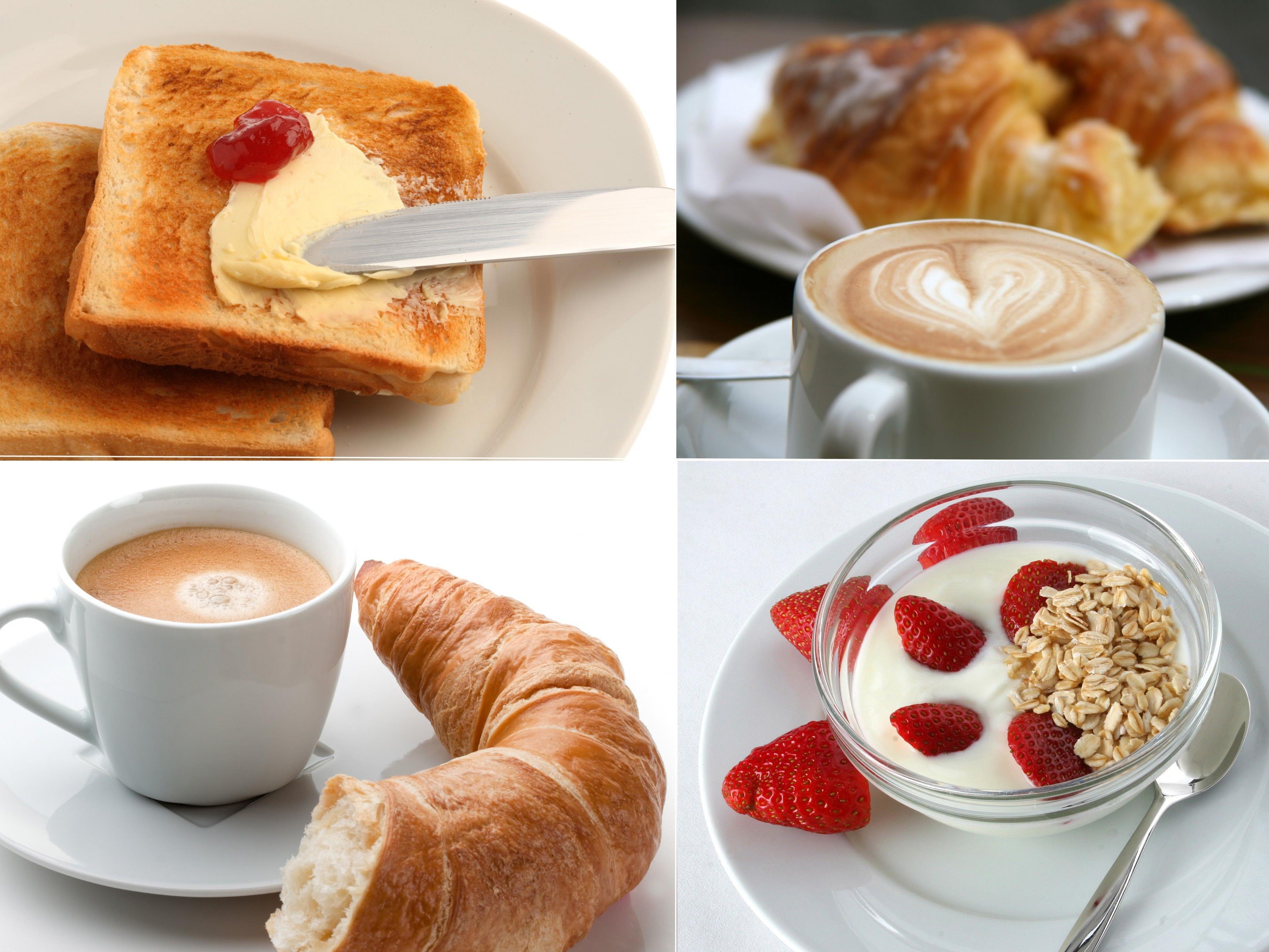 Was isst Du am liebsten zum Frühstück?