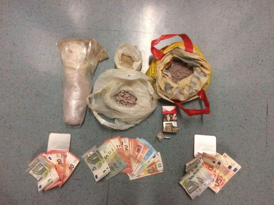 Drogen und Bargeld wurden sichergestellt