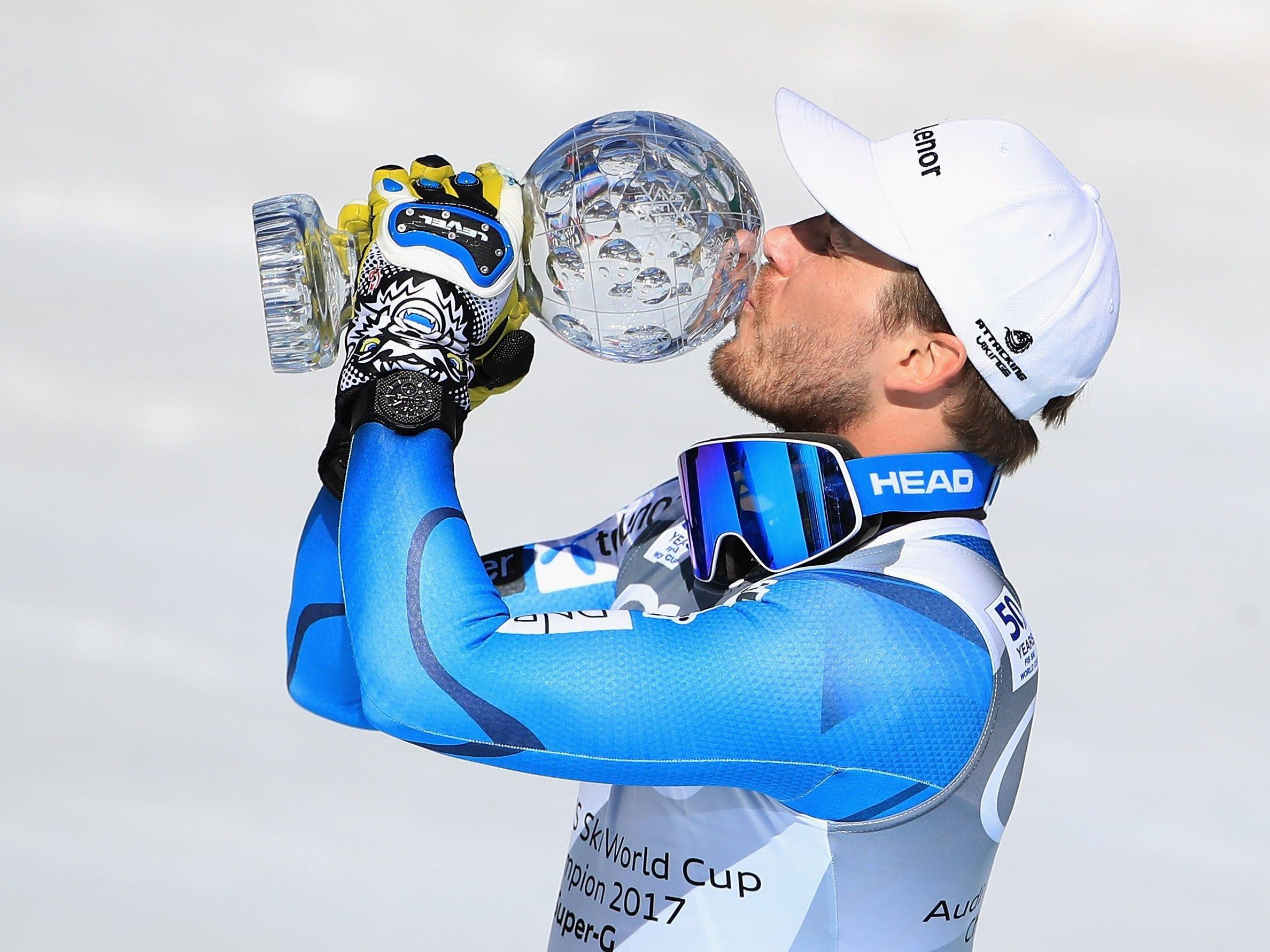 Für Kjetil Jansrud stand der Gewinn schon vor dem Rennen fest.