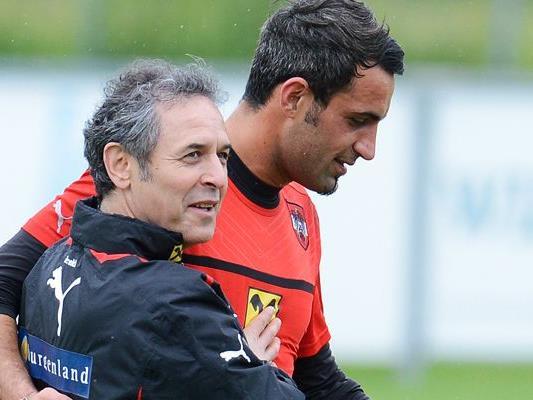 """Wer folgt Ramazan """"Rambo"""" Özcan ins Tor? Teamchef Koller gibt heute seinen Kader für die Spiele gegen Moldau und Finnland bekannt."""