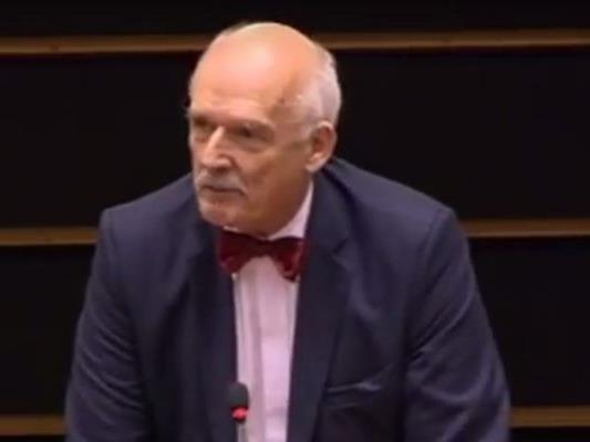Der polnische EU-Parlametarien sorgt nicht zum ersten Mal für einen Eklat.