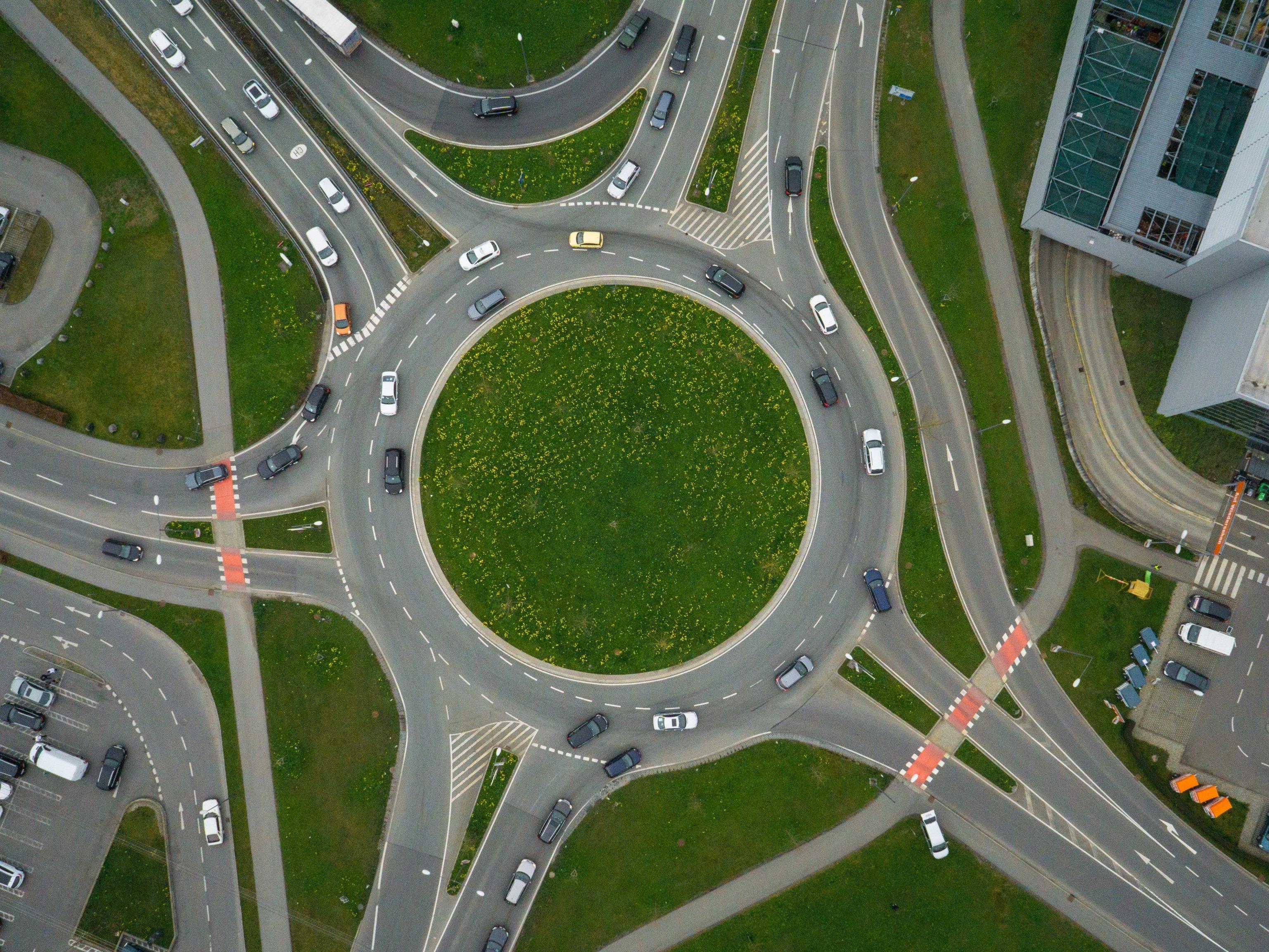 Der Kreisverkehr in Dornbirn Süd gilt als besonders gefährlich.