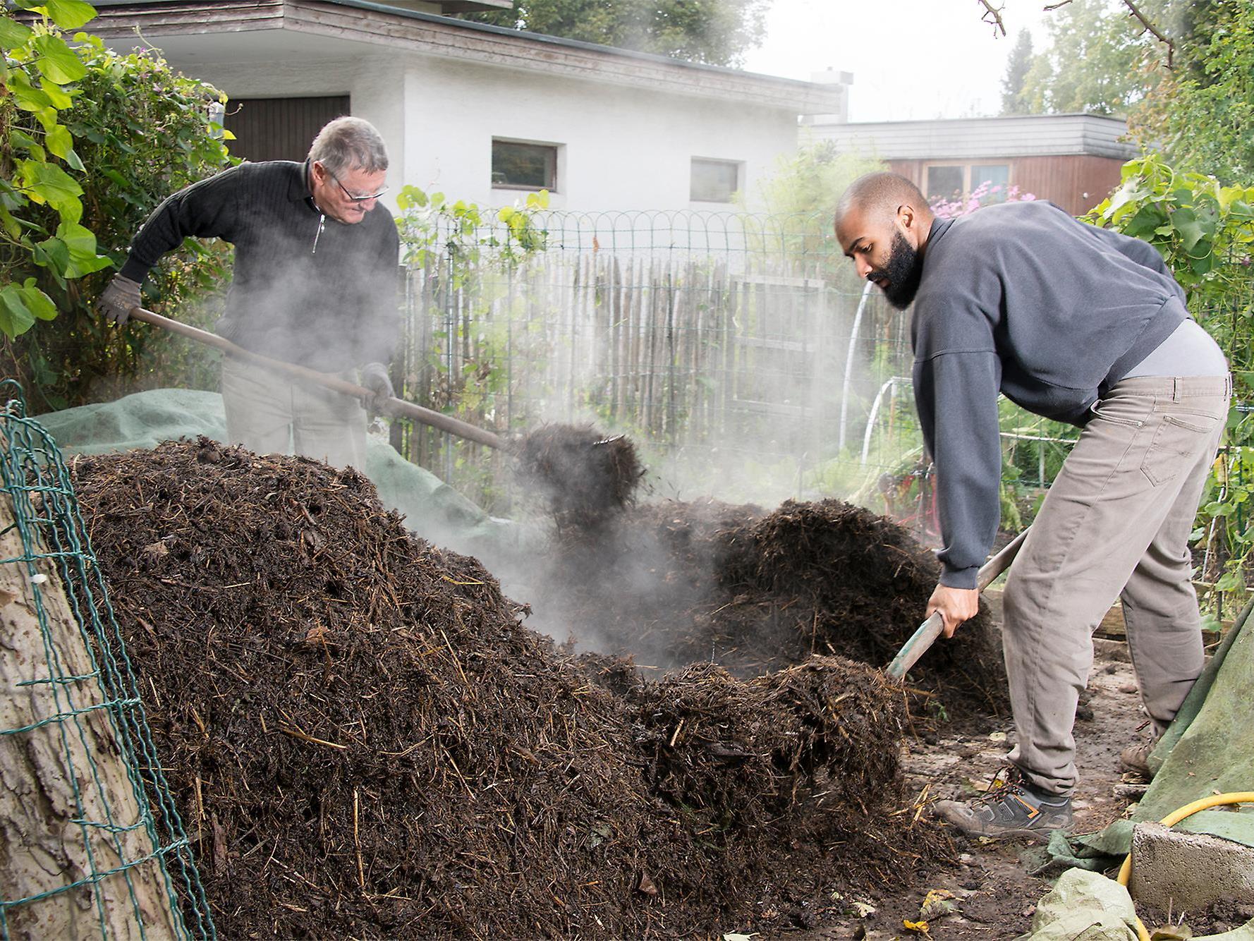 Kompost - das Gold des Gärtners