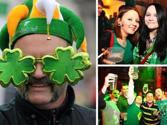 Beim St Patrick's Day in Wien wird auf irische Art abgefeiert